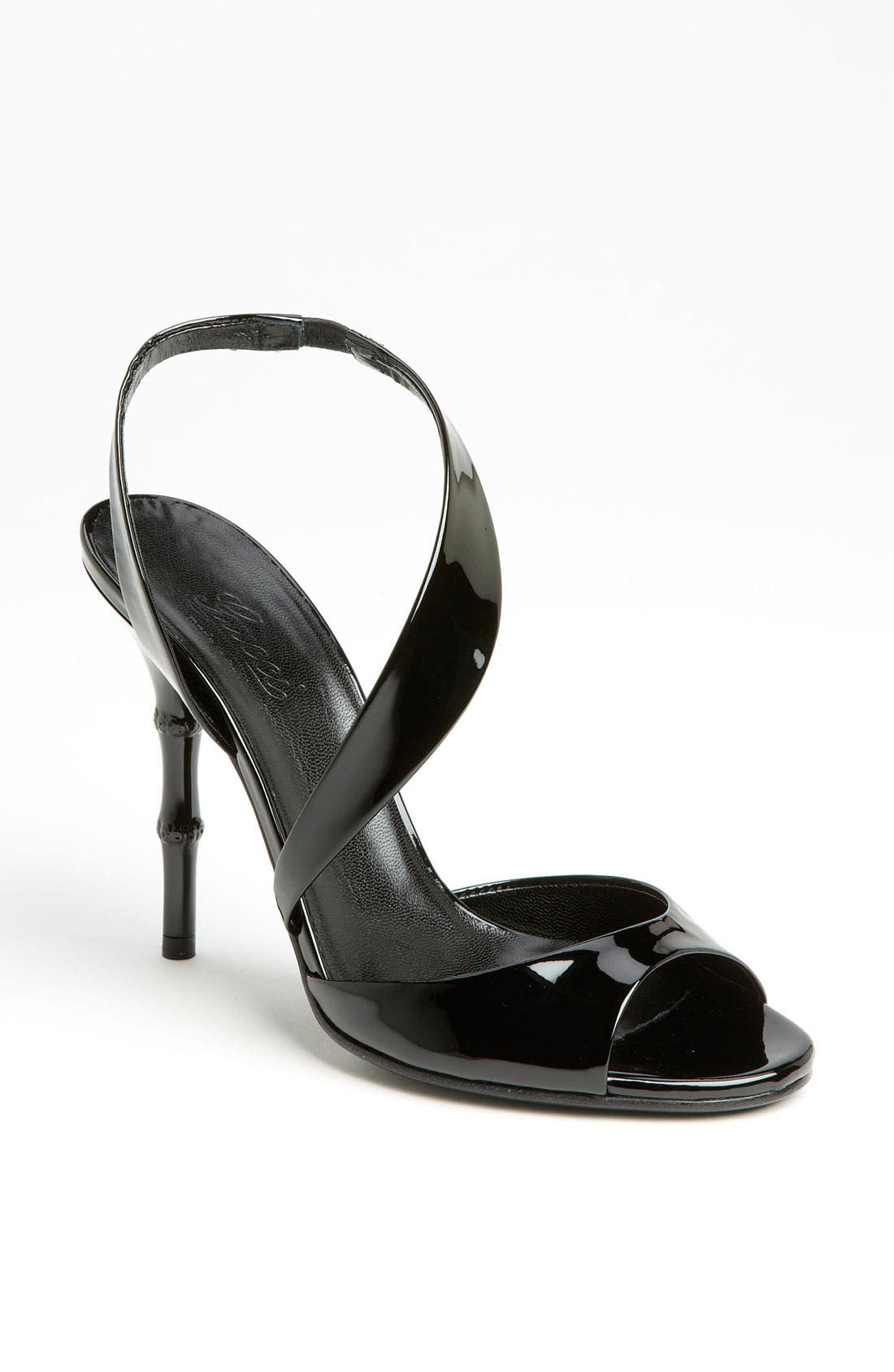 Alternate Image 1 Selected - Gucci 'Linda' Bamboo Heel Sandal