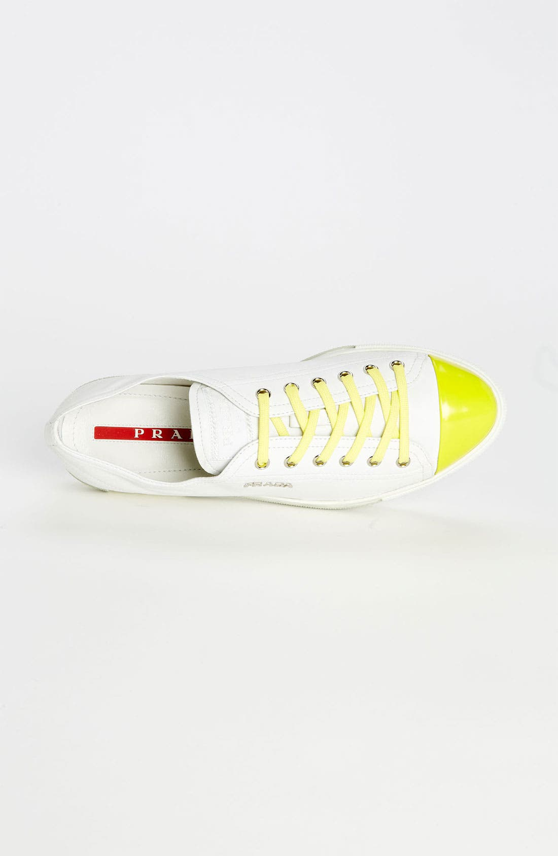 Alternate Image 3  - Prada Cap Toe Sneaker