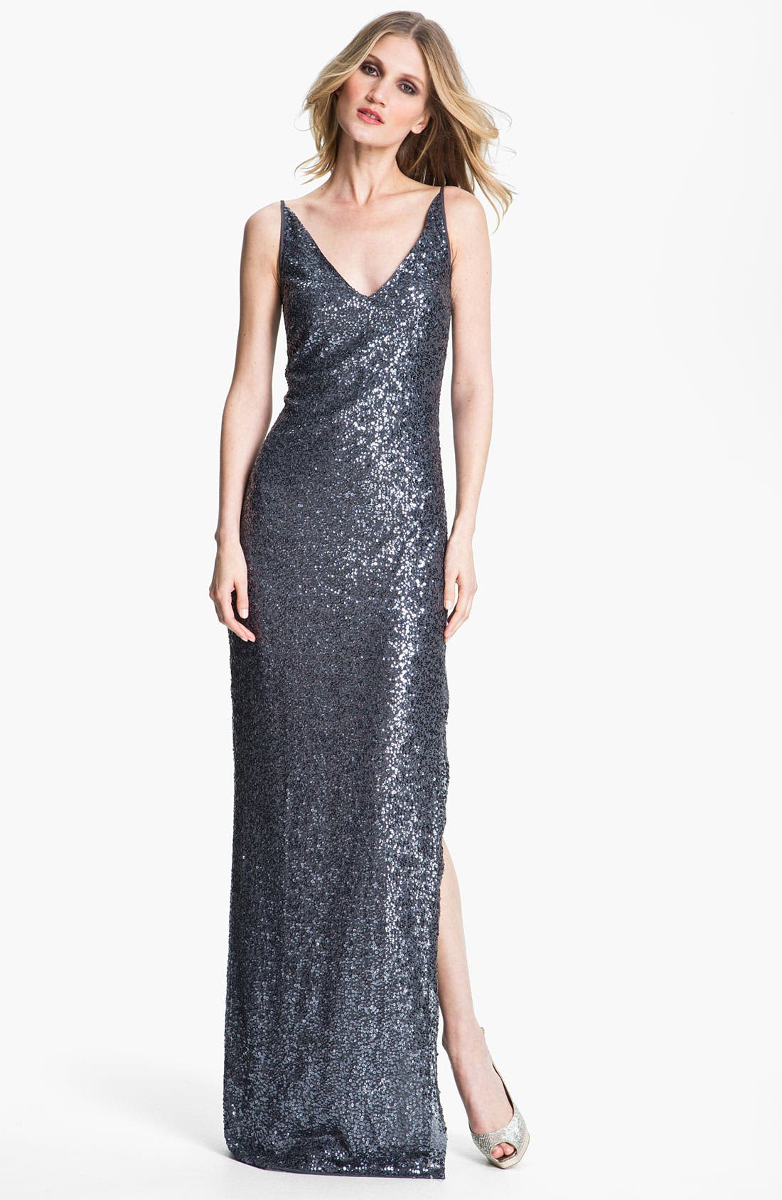 Alternate Image 1 Selected - St. John Collection Sequin Gown