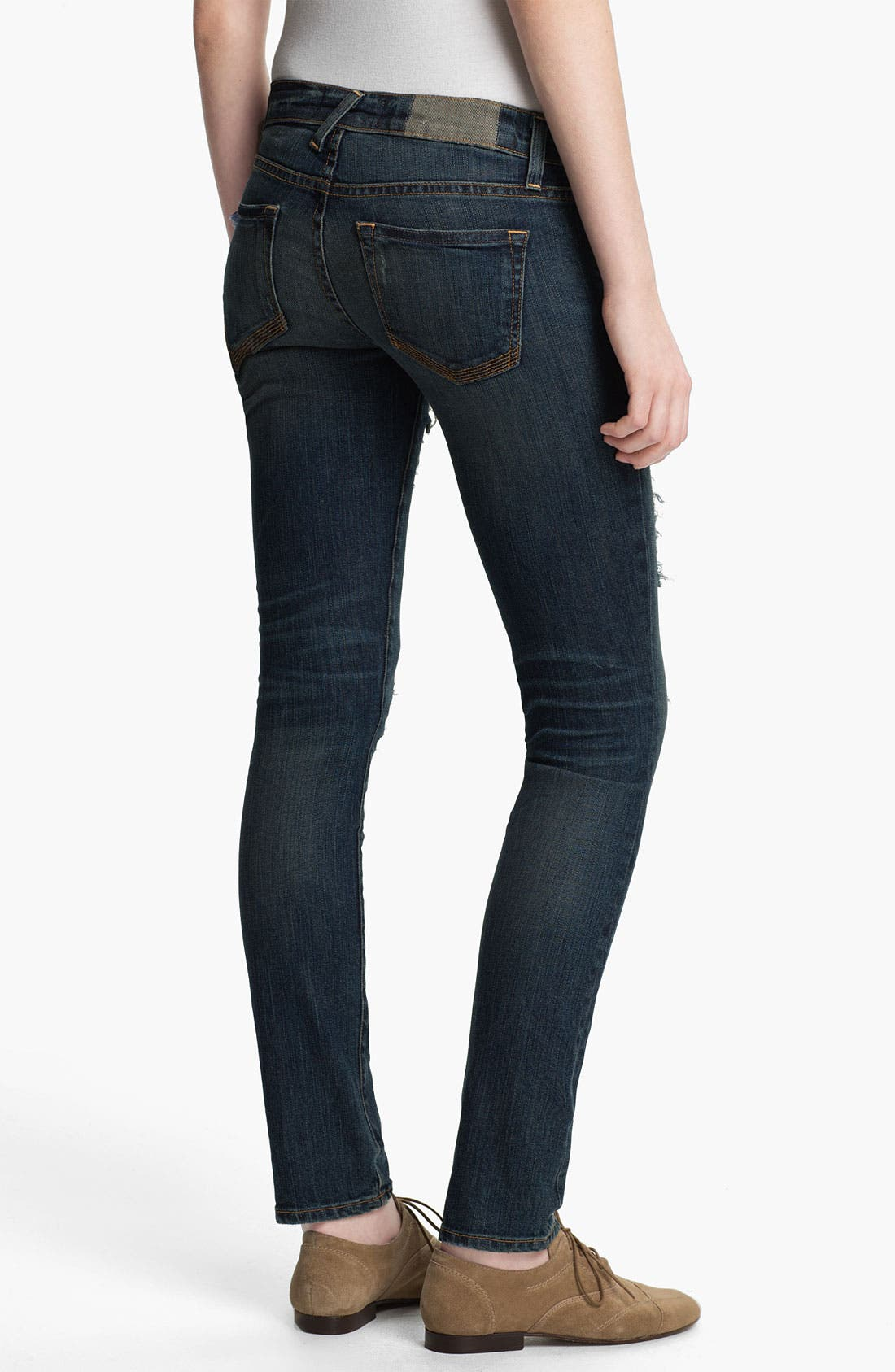 Alternate Image 2  - TEXTILE Elizabeth and James 'Debbie' Distressed Skinny Jeans