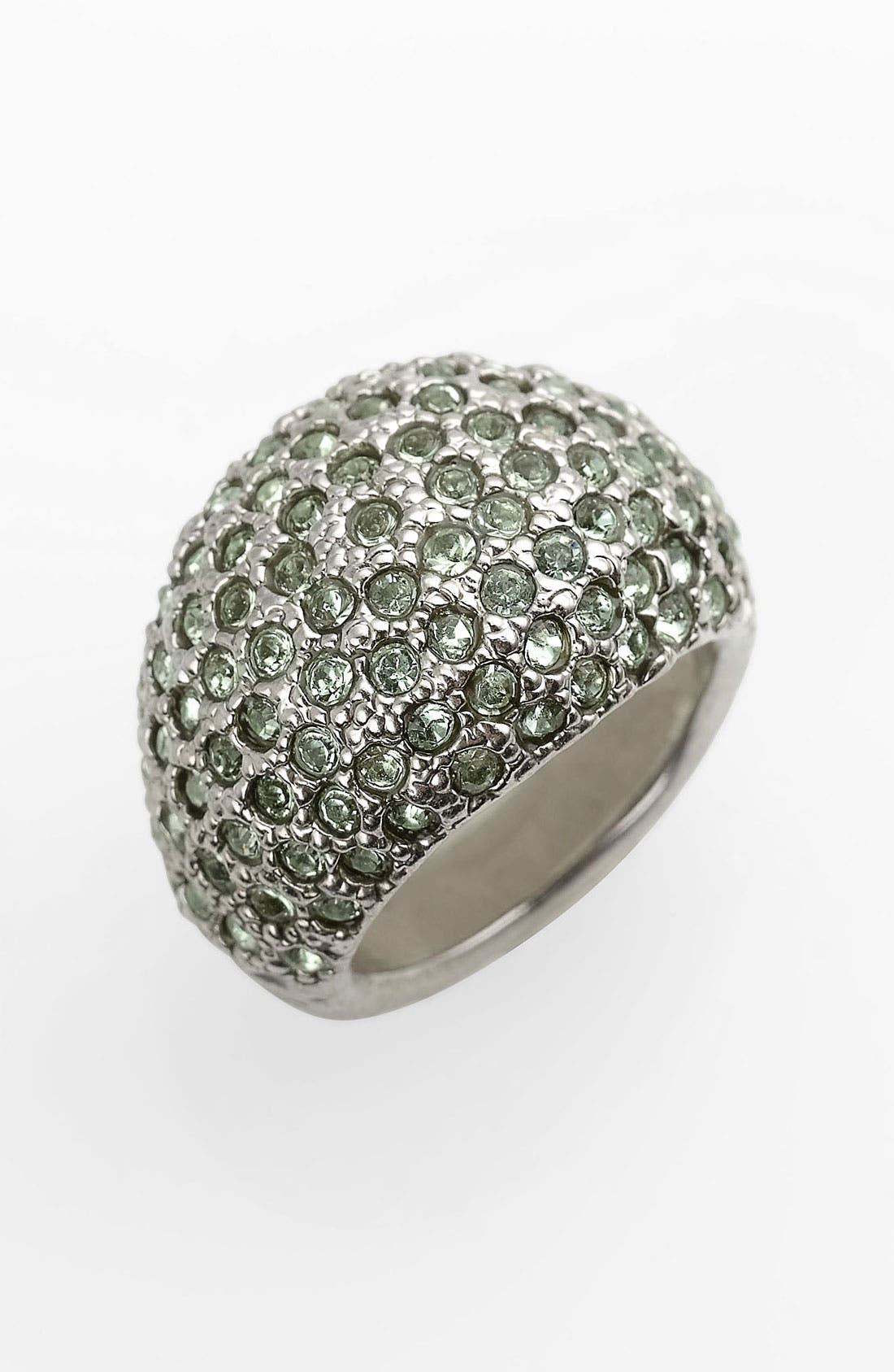 Main Image - St. John Collection Swarovski Crystal Dome Ring
