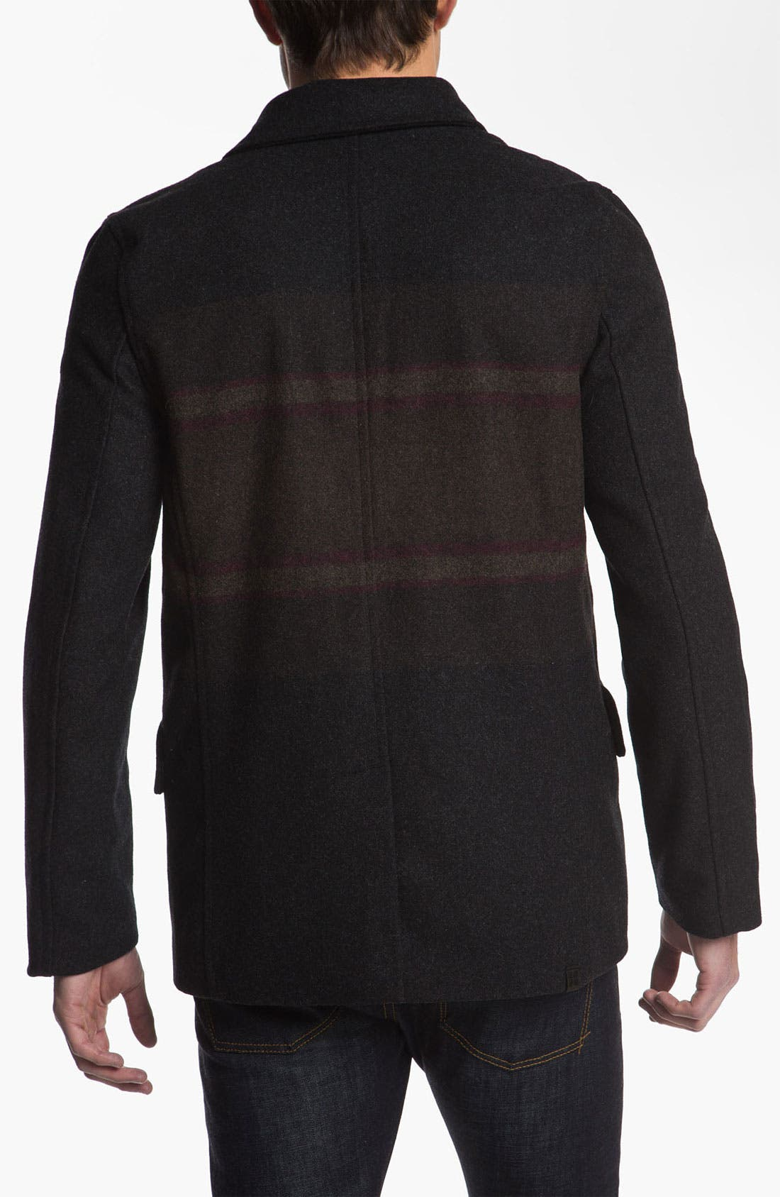 Alternate Image 2  - Insight 'Downtown' Peacoat