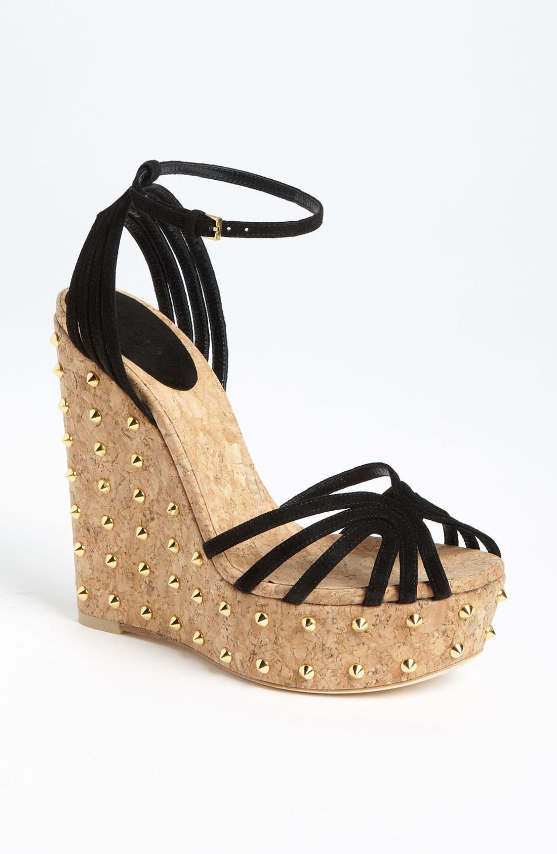 Alternate Image 1 Selected - Gucci 'Cecyl' Wedge Sandal