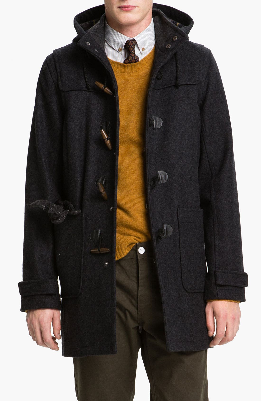 Alternate Image 1 Selected - Topman Duffle Coat