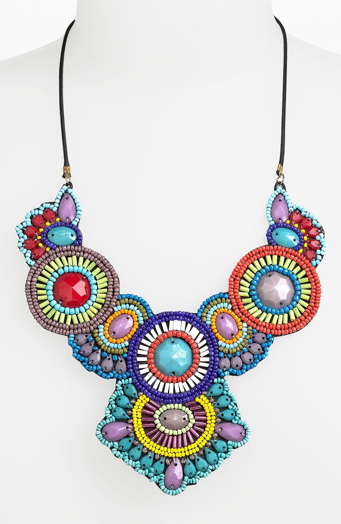 Alternate Image 1 Selected - Spring Street 'Frida' Statement Necklace
