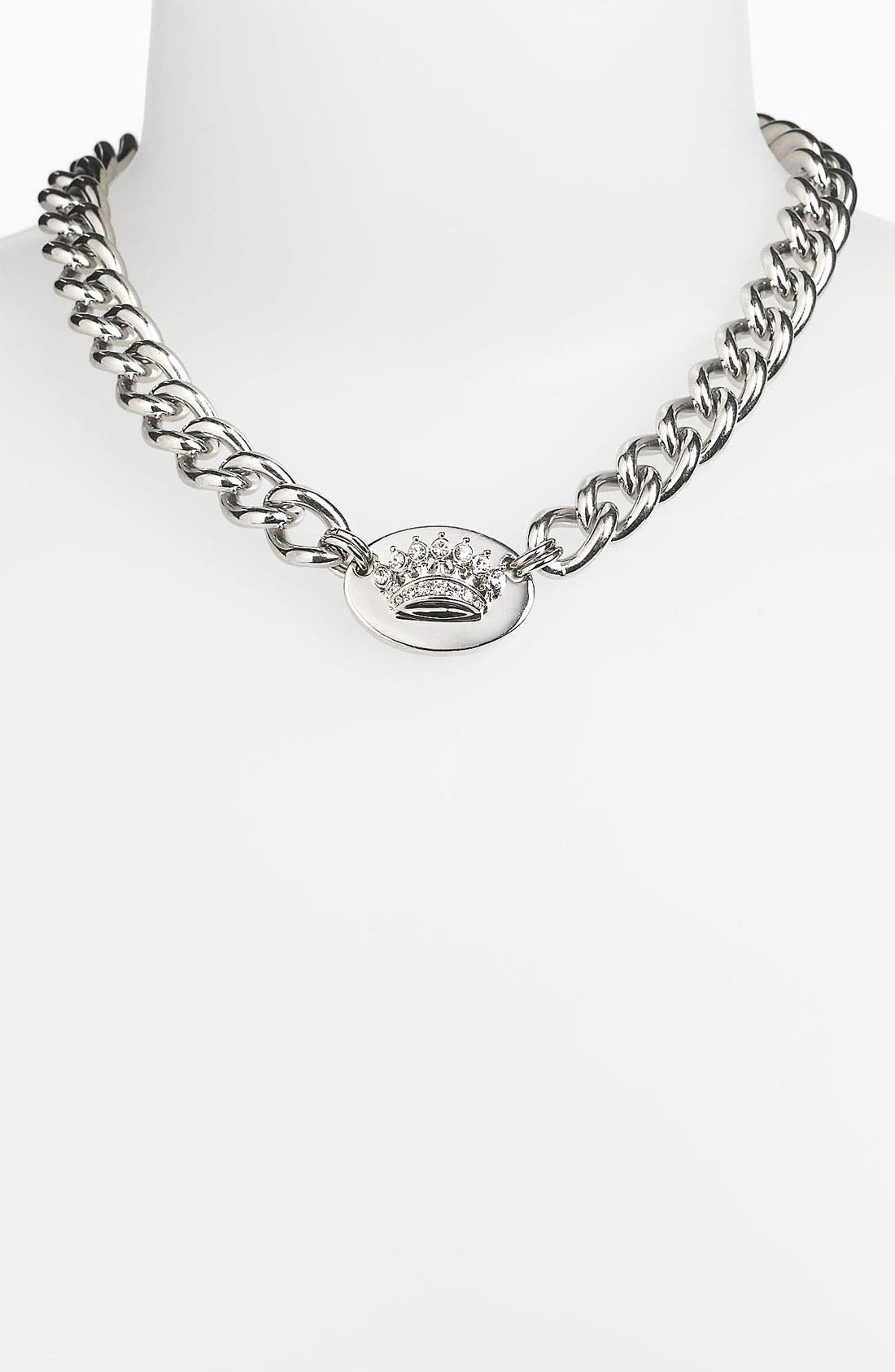 Main Image - Juicy Couture 'Holiday Icons' ID Necklace