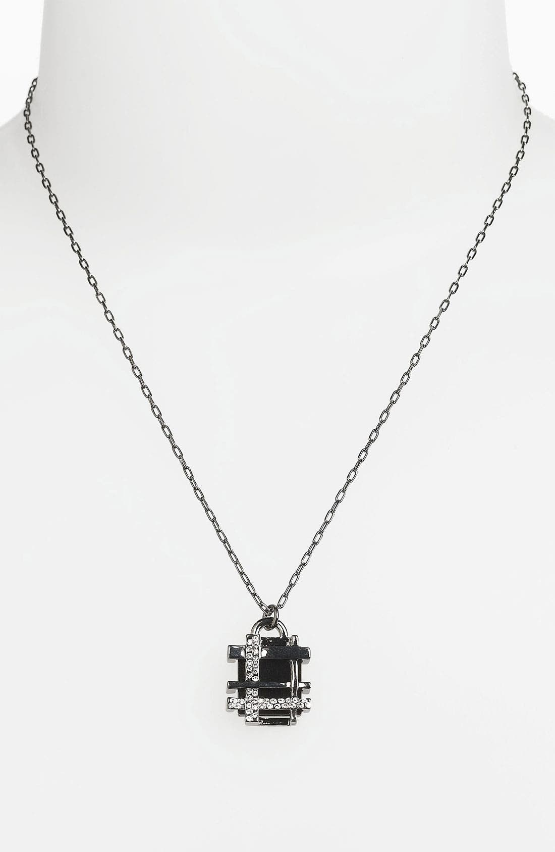 Main Image - Tory Burch 'Mini' Pendant Necklace