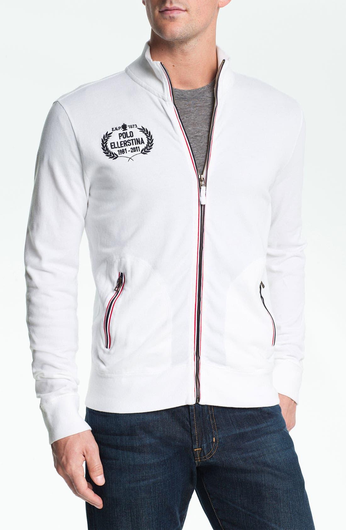Alternate Image 1 Selected - Etiqueta Negra Zip Front Sweatshirt