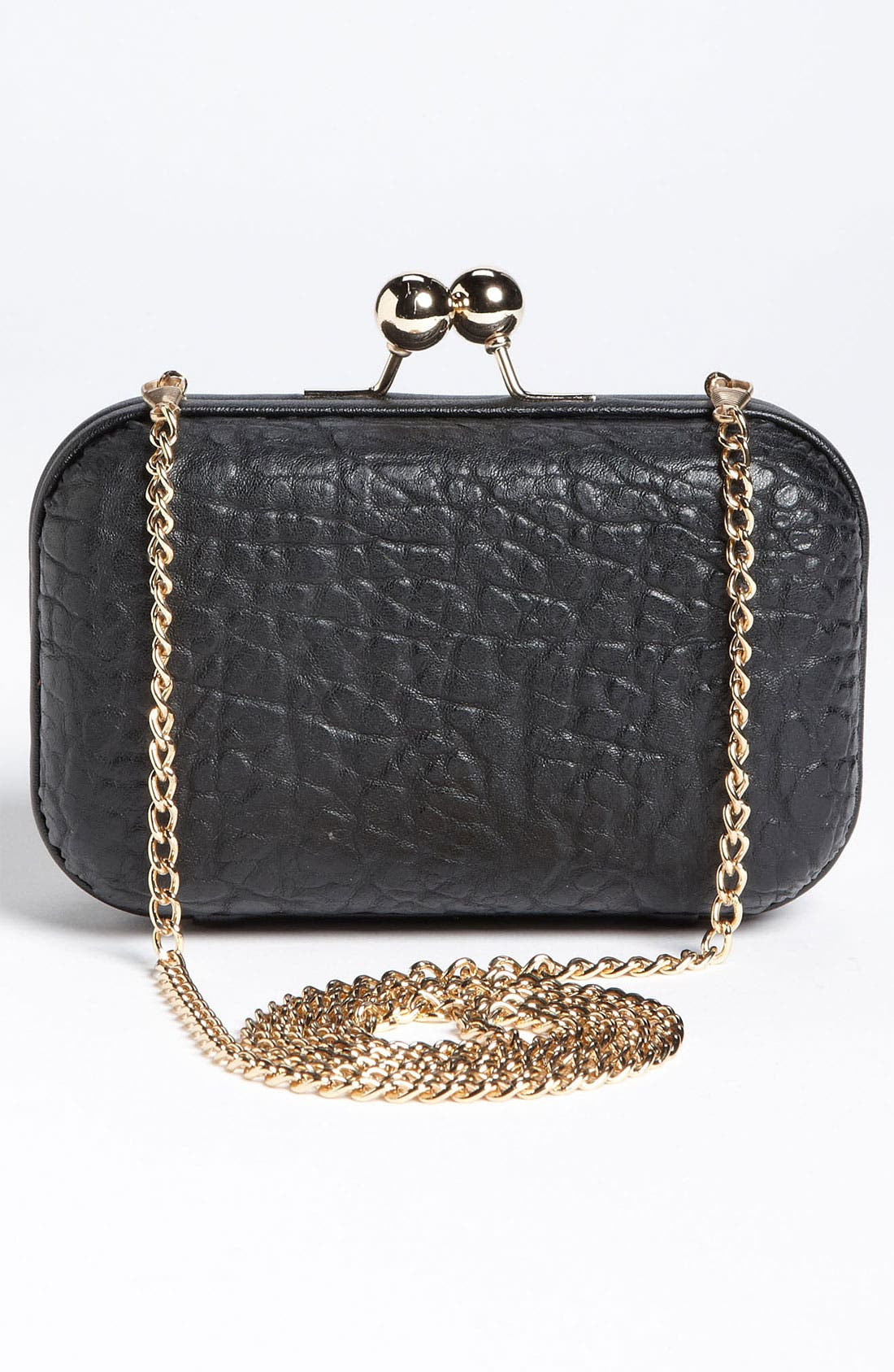 Alternate Image 4  - Street Level Studded Pillbox Clutch