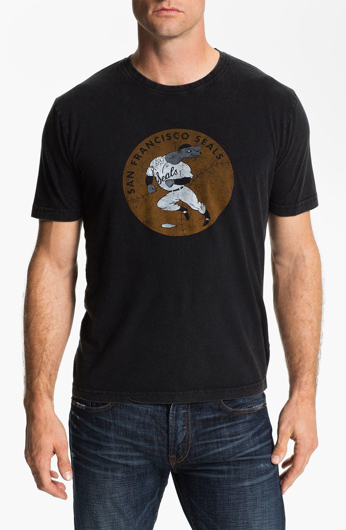 Alternate Image 1 Selected - Red Jacket 'San Francisco Seals - Brass Tack' T-Shirt