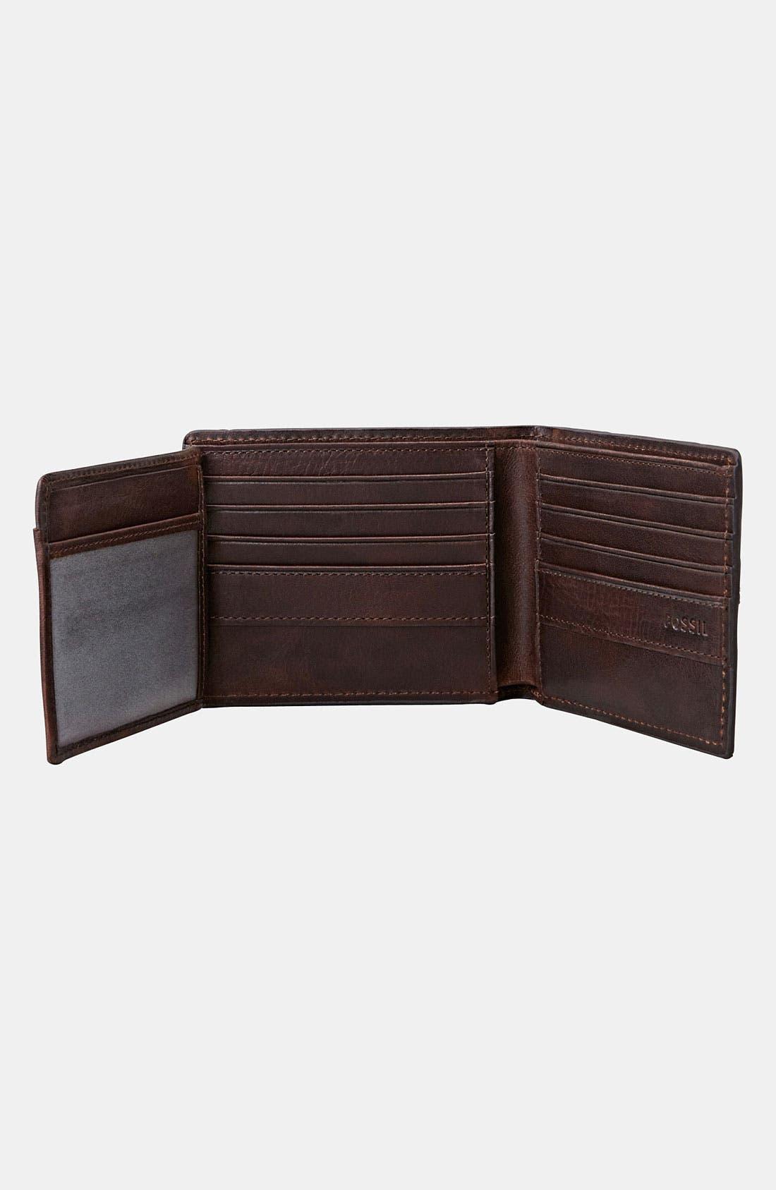Alternate Image 4  - Fossil 'Dillon' Traveler Wallet