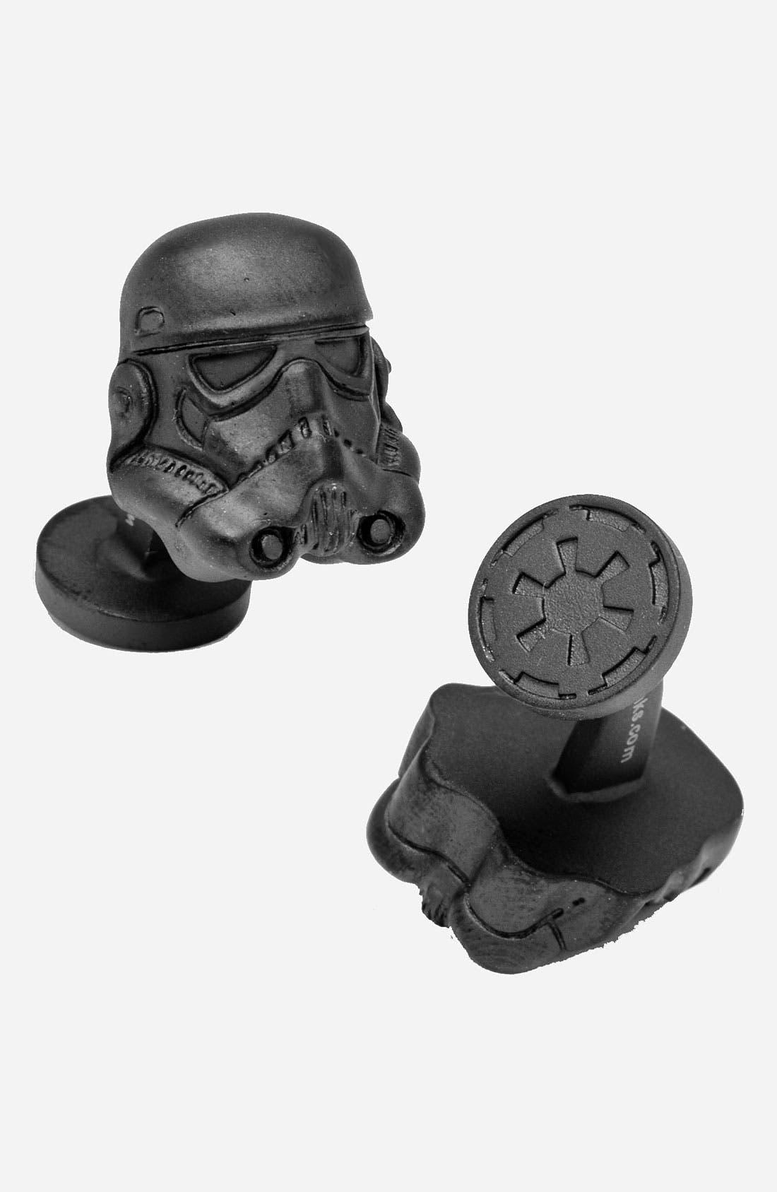 Main Image - Cufflinks, Inc. 'Star Wars™ - Stormtrooper Helmet' Cuff Links
