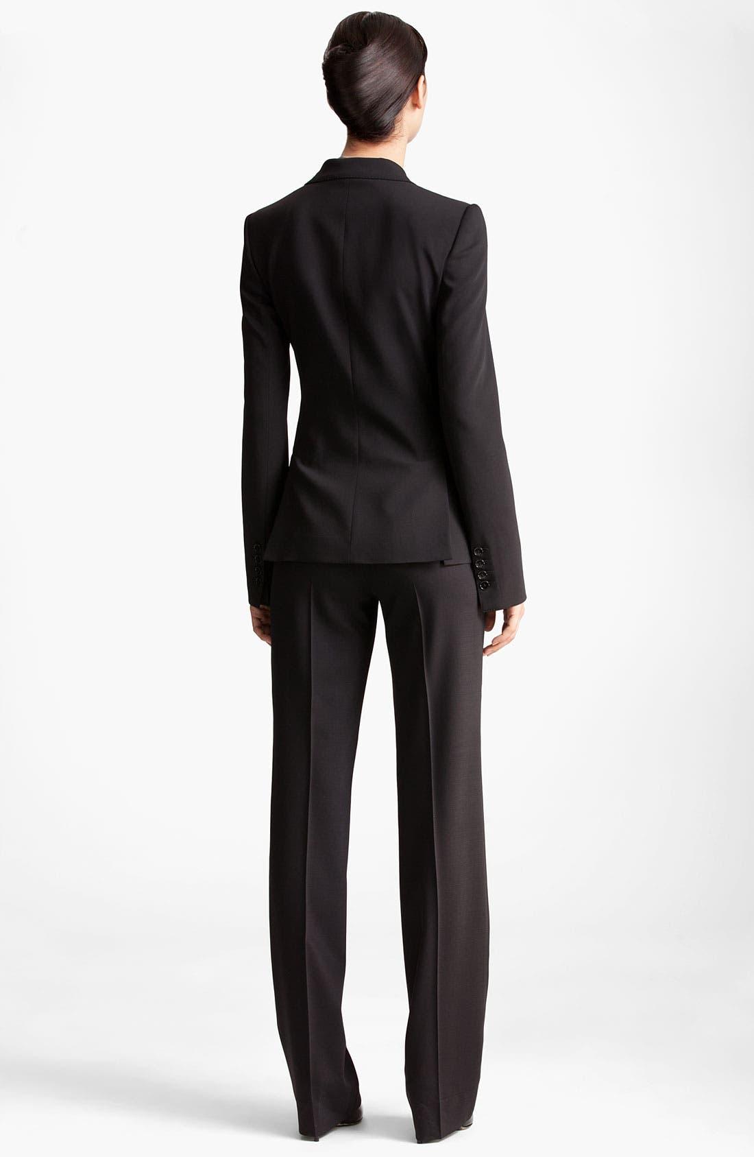 Alternate Image 3  - Dolce&Gabbana Two Button Stretch Wool Jacket