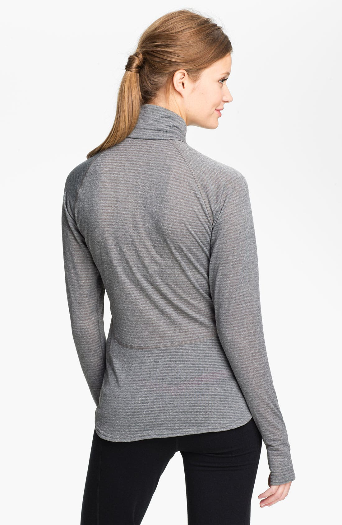 Alternate Image 2  - Patagonia 'Capilene 4' Expedition Weight Base Layer Zip Neck Top