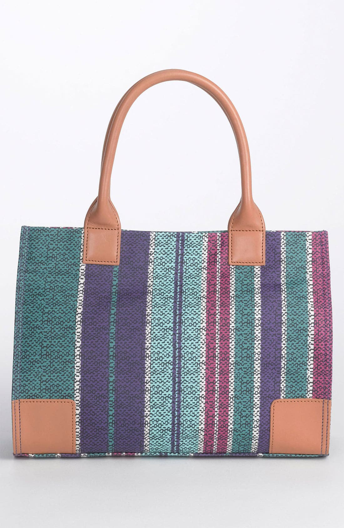 Alternate Image 4  - Tory Burch 'Mini' Coated Canvas Tote