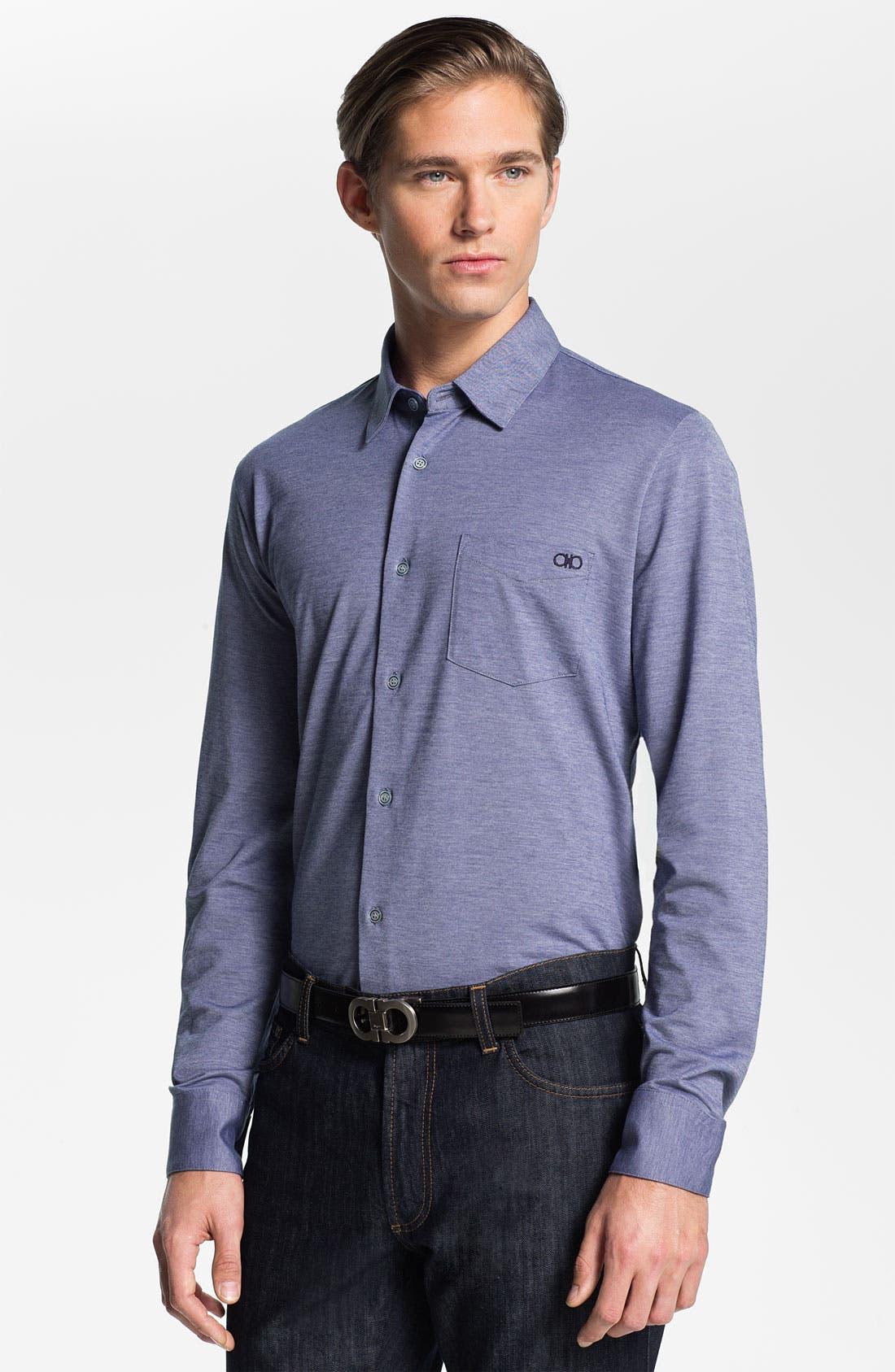 Alternate Image 1 Selected - Salvatore Ferragamo Sport Shirt
