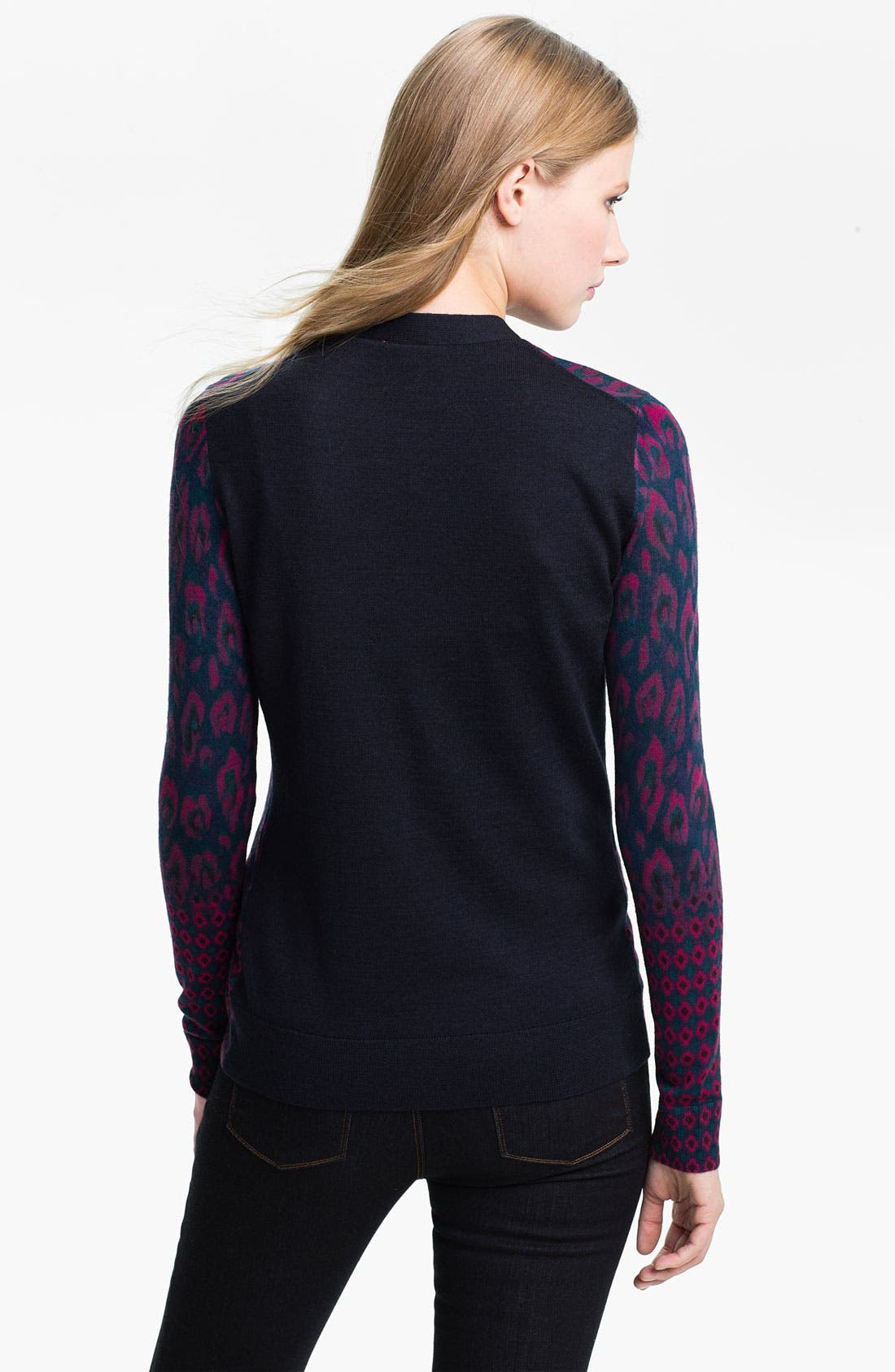 Alternate Image 2  - Tory Burch 'Brady' Print Cardigan