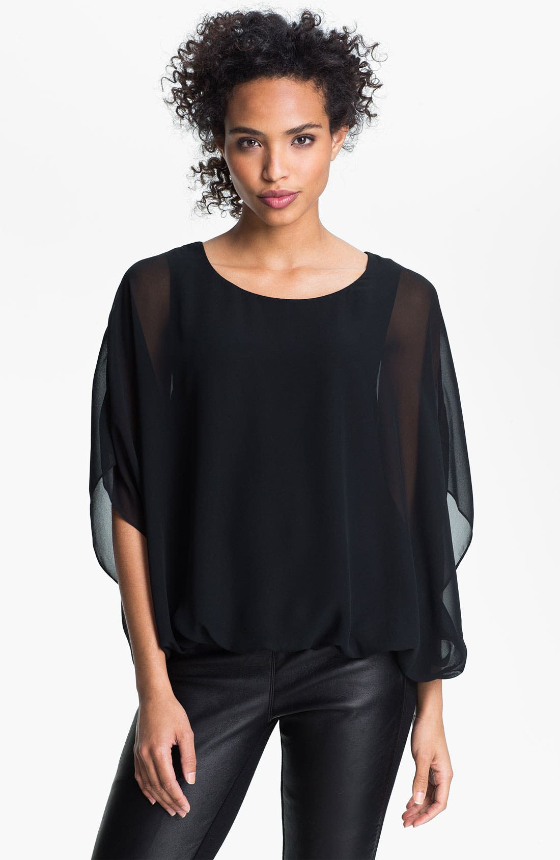 Alternate Image 1 Selected - Vince Camuto Batwing Sleeve Blouse
