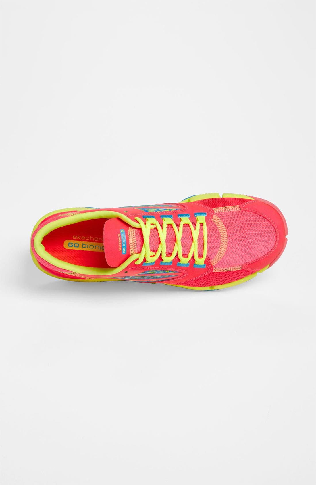Alternate Image 3  - SKECHERS 'GOBionic Ride' Running Shoe (Women)