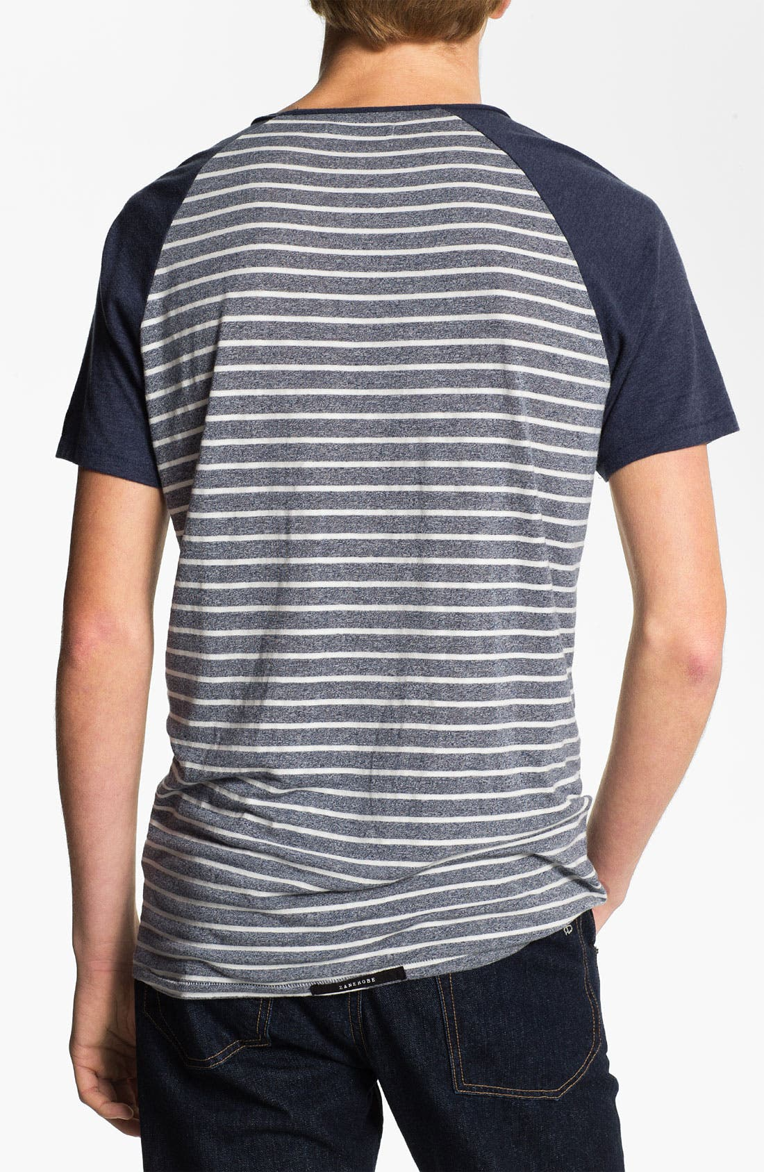 Alternate Image 2  - ZANEROBE 'Duke' Stripe Scoop Neck T-Shirt