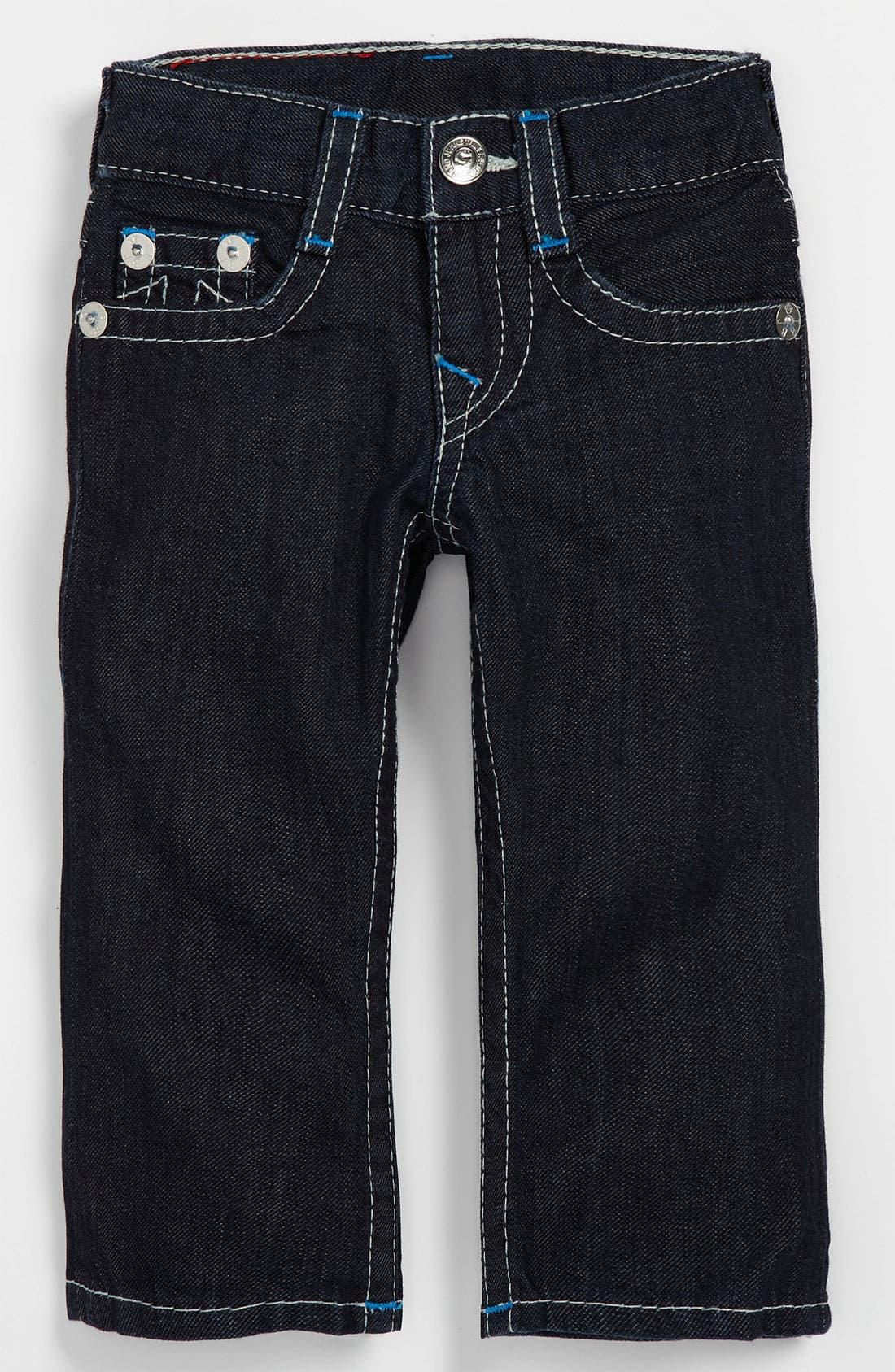 Alternate Image 2  - True Religion Brand Jeans 'Jack' Skinny Leg Jeans (Infant)