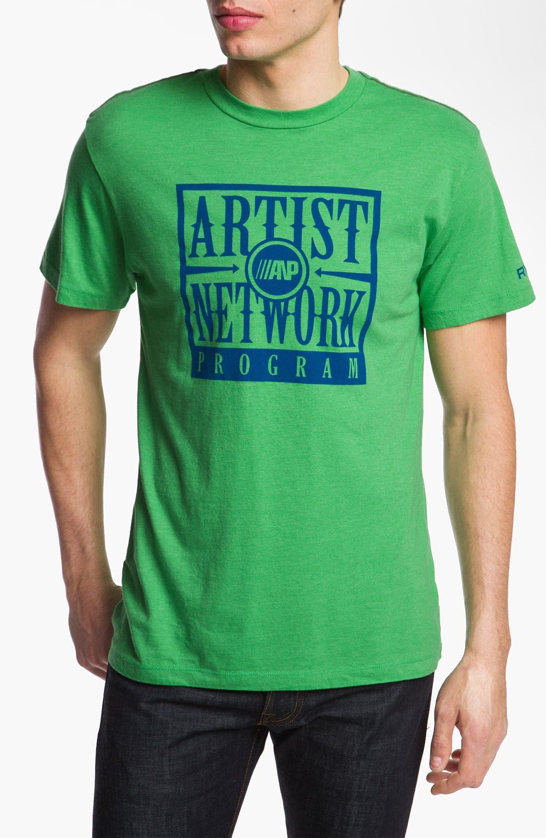 Alternate Image 1 Selected - RVCA 'ANP Box' Vintage Wash T-Shirt