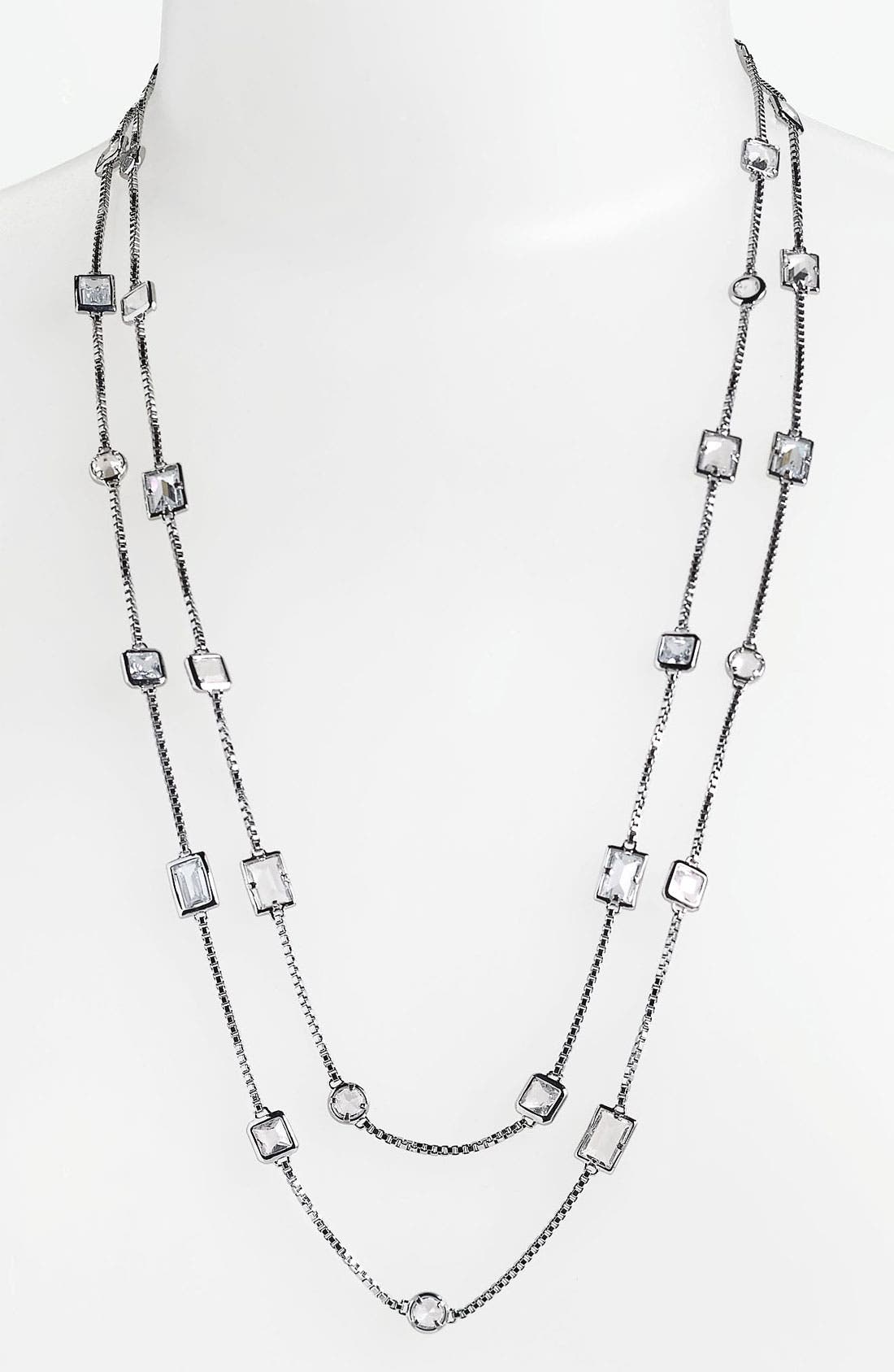 Alternate Image 1 Selected - Michael Kors 'Cocktail Party' Extra Long Station Necklace