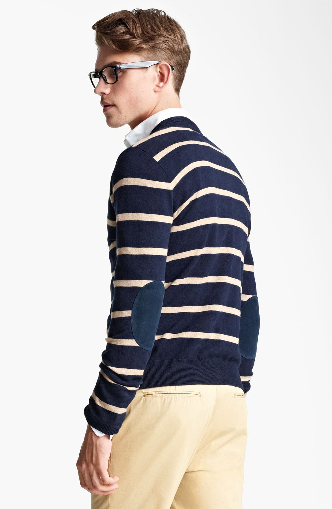 Alternate Image 2  - Shipley & Halmos Stripe Cardigan