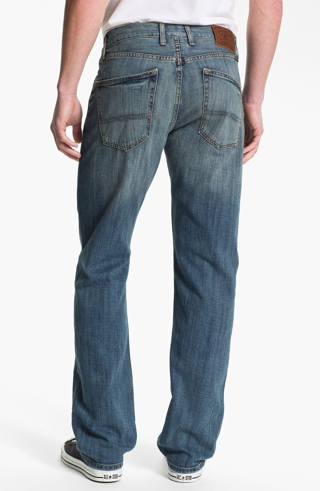 Alternate Image 2  - Lucky Brand '221 Original' Straight Leg Jeans (Quartzite)
