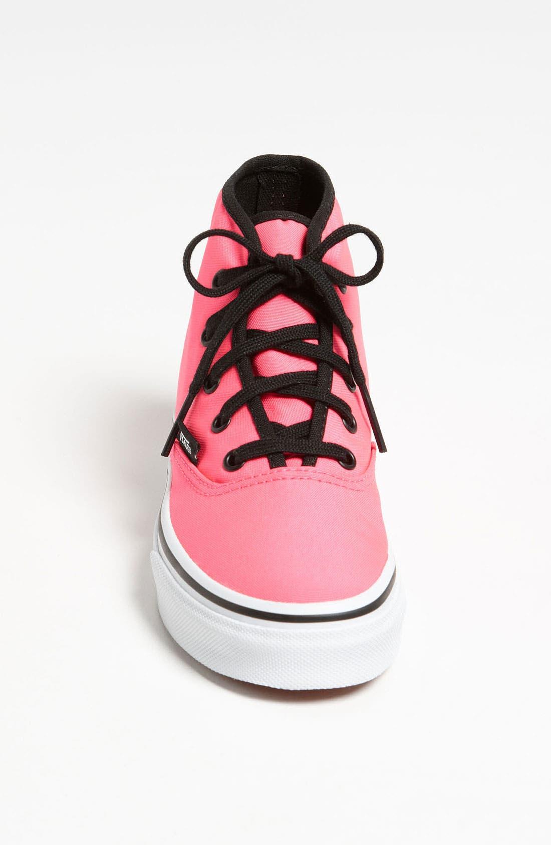 Alternate Image 3  - Vans 'Authentic - Hi' Sneaker (Toddler, Little Kid & Big Kid)
