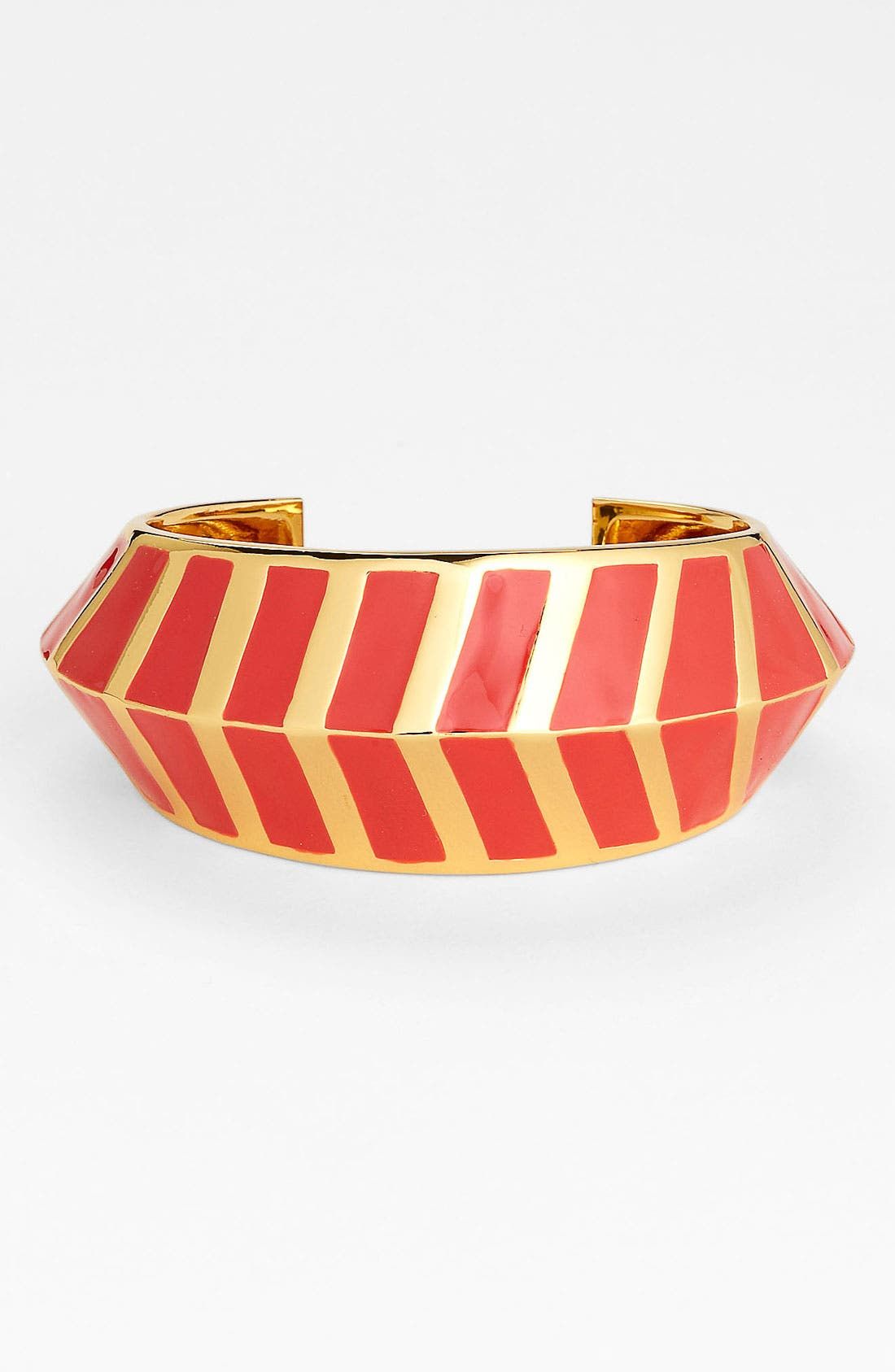 Alternate Image 1 Selected - Vince Camuto Chevron Cuff