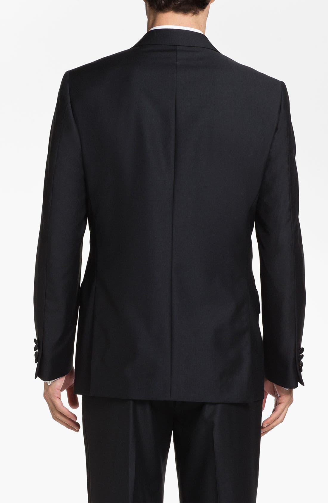 Alternate Image 2  - John W. Nordstrom® Signature Wool Dinner Jacket