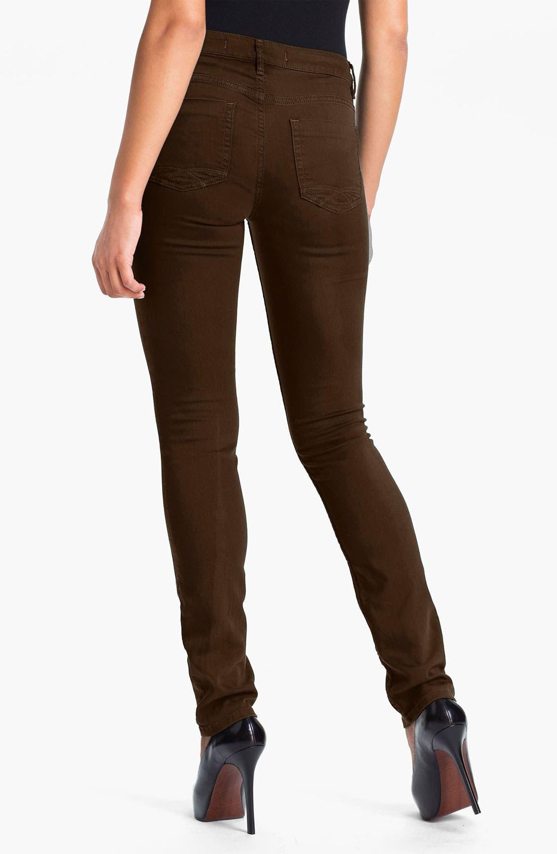 Alternate Image 2  - Christopher Blue 'Sophia' Twill Skinny Jeans
