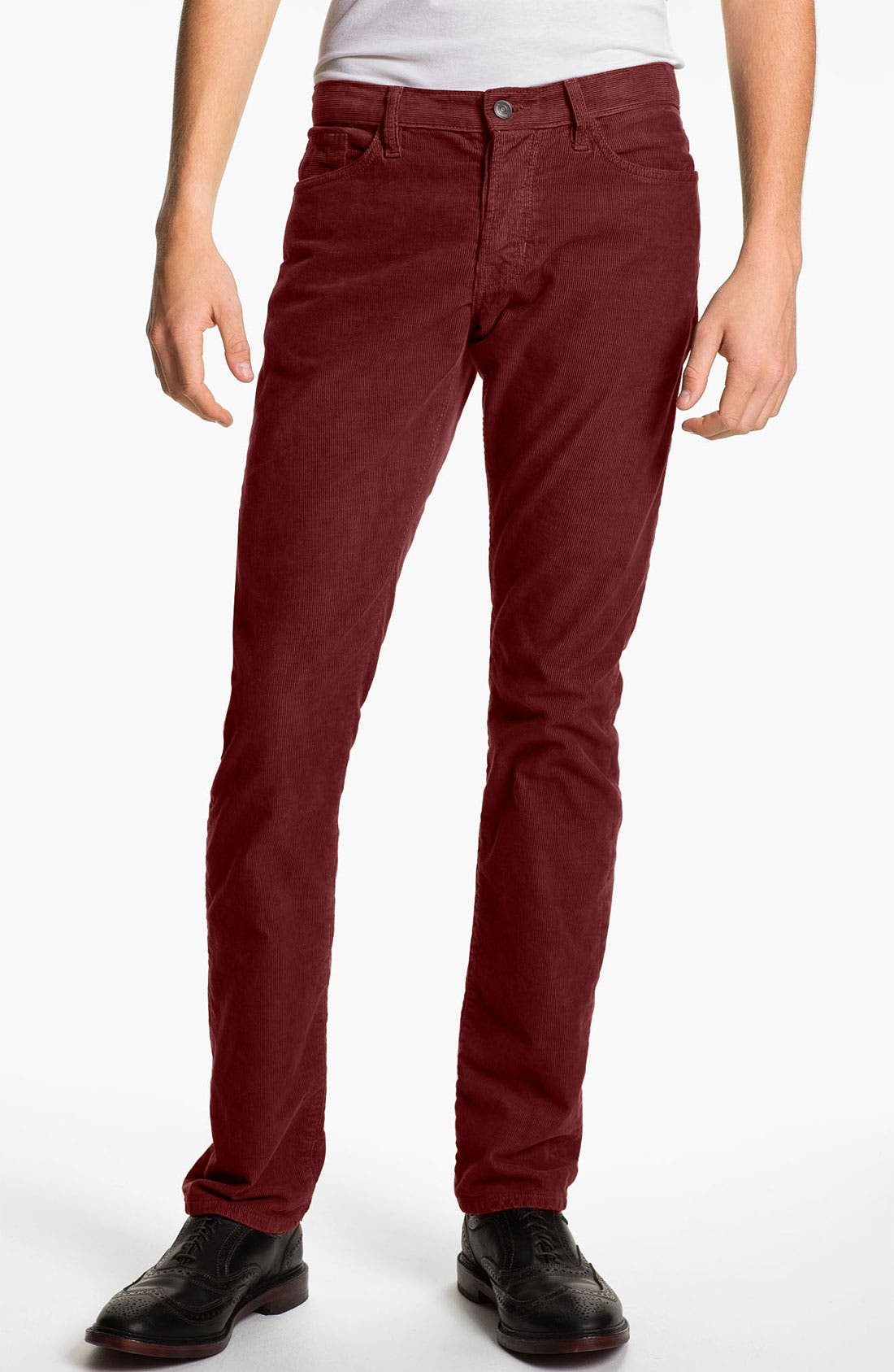 Alternate Image 2  - Vince Slim Straight Leg Corduroy Pants