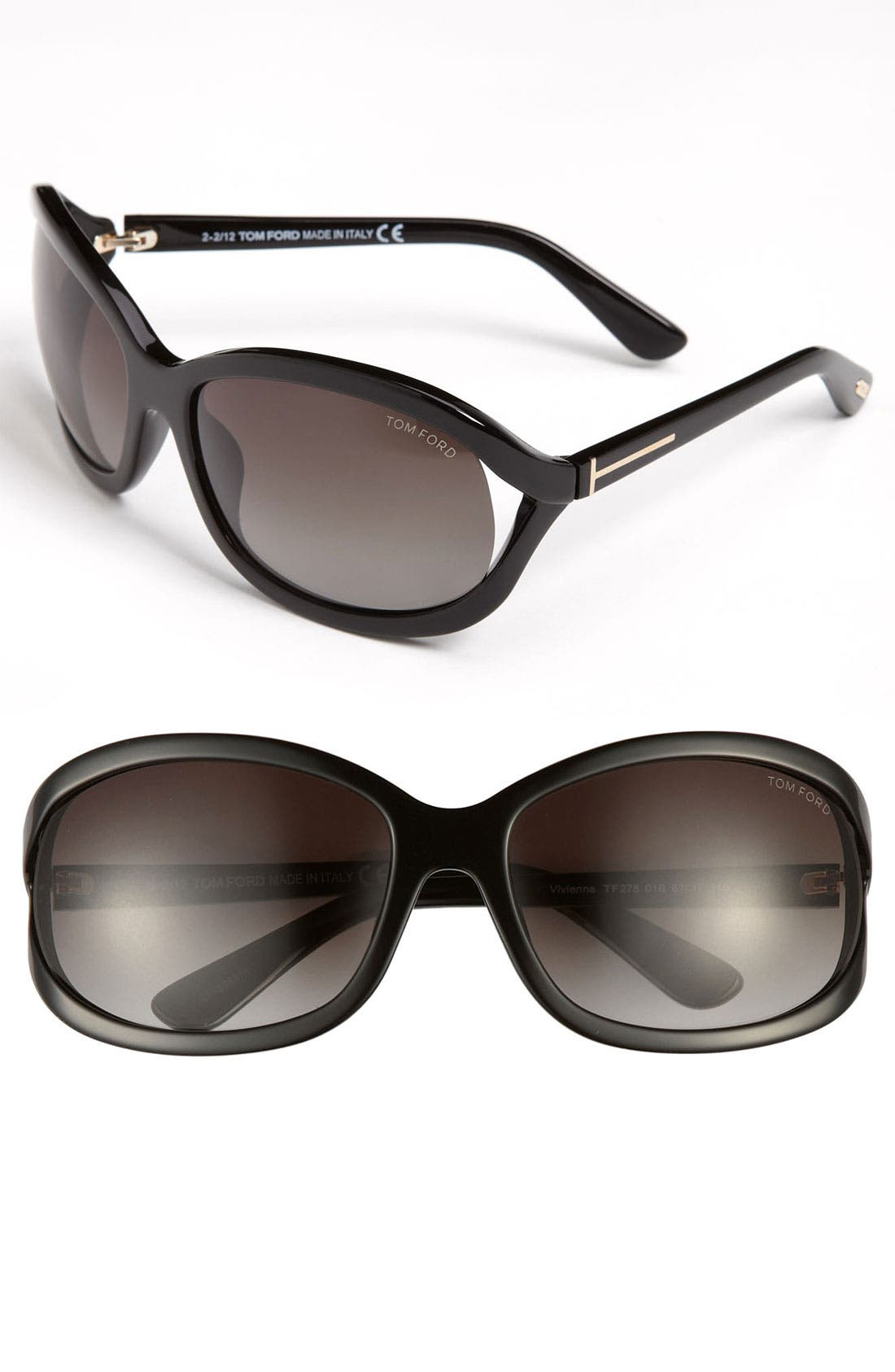 Alternate Image 1 Selected - Tom Ford 'Vivienne' 61mm Sunglasses