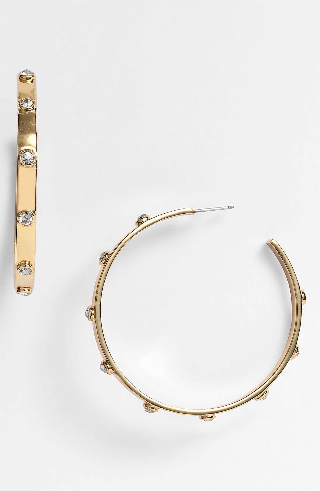 Alternate Image 1 Selected - Vince Camuto 'Speakeasy' Hoop Earrings