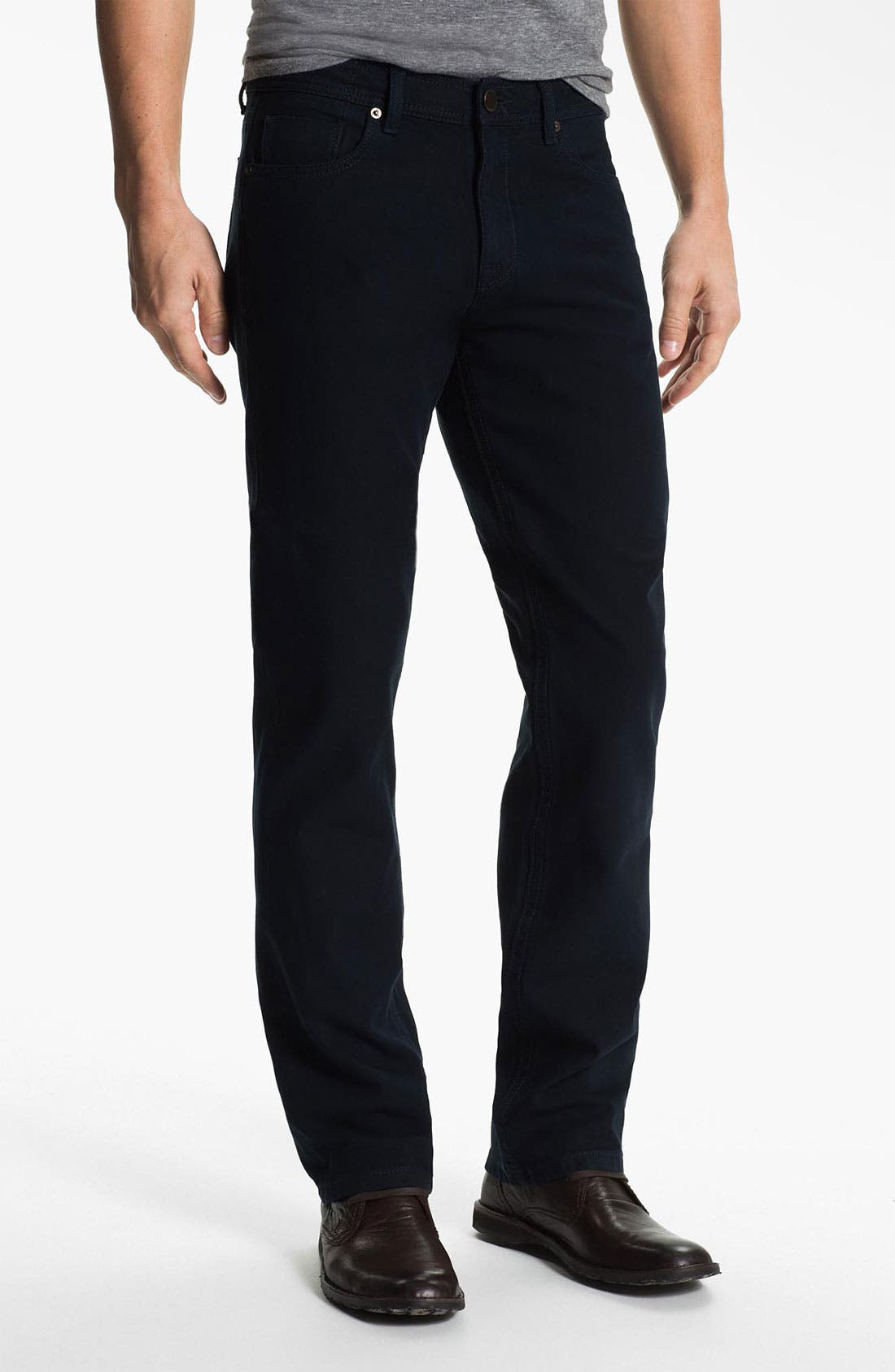 Alternate Image 1 Selected - DL1961 'Vince' Straight Leg Jeans (Storm)