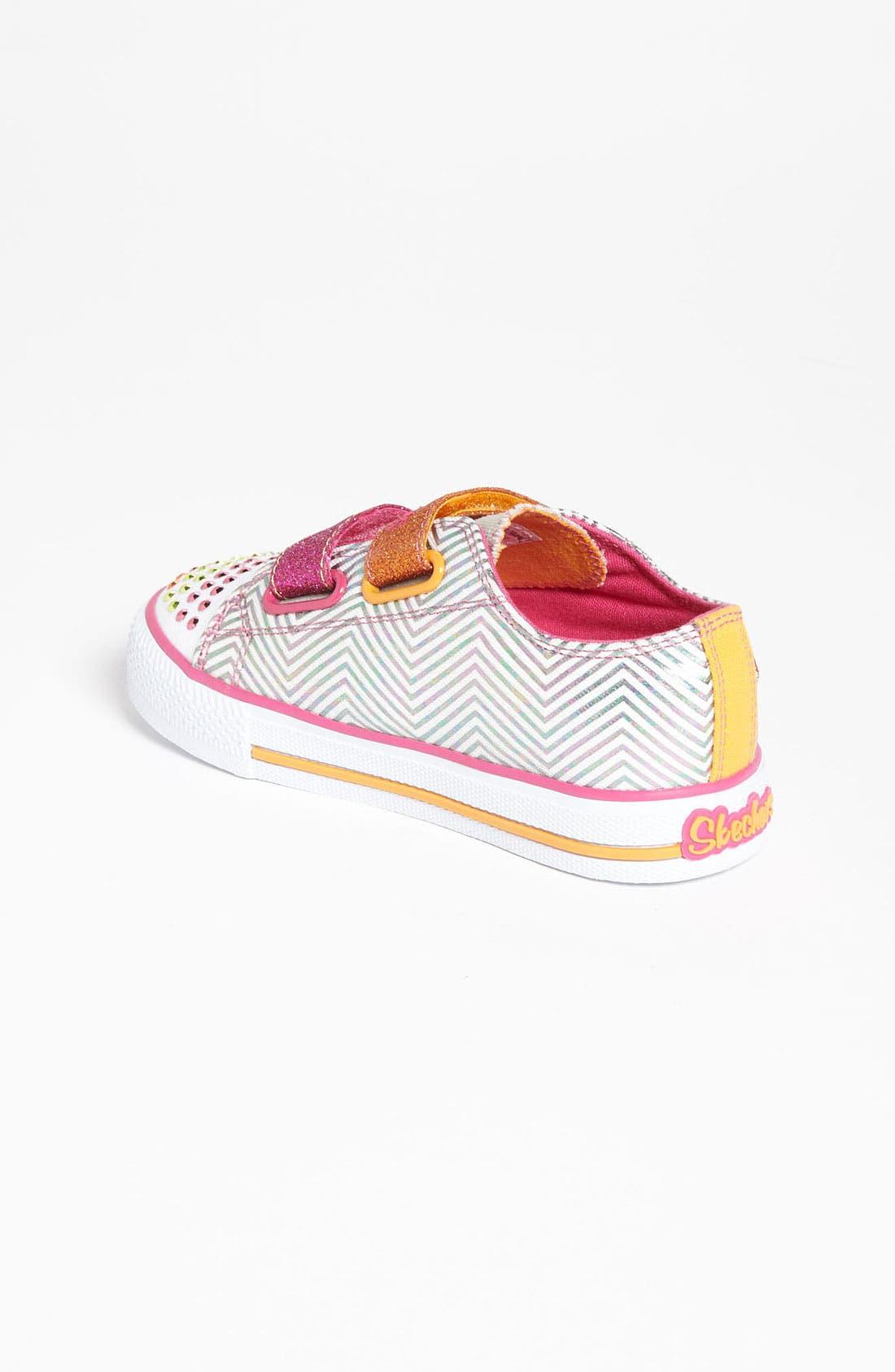 Alternate Image 2  - SKECHERS 'Shuffles' Light-Up Sneaker (Walker & Toddler)