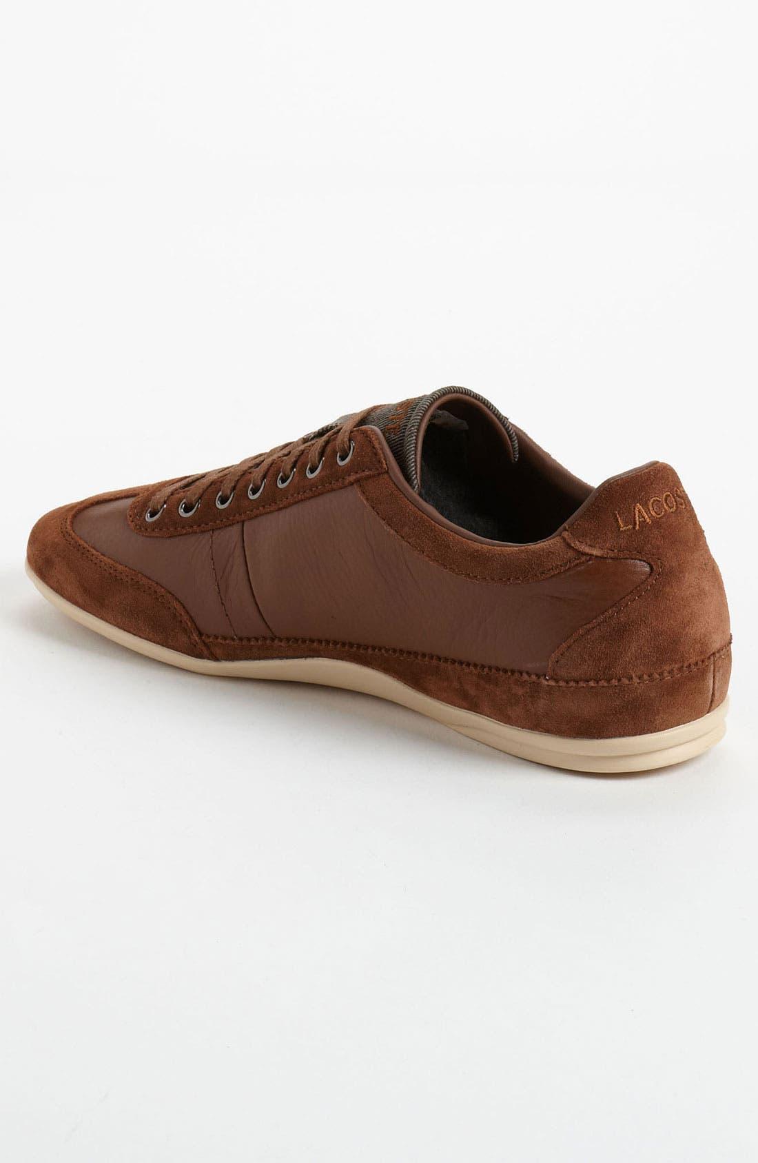 Alternate Image 2  - Lacoste 'Misano 19' Sneaker (Men)