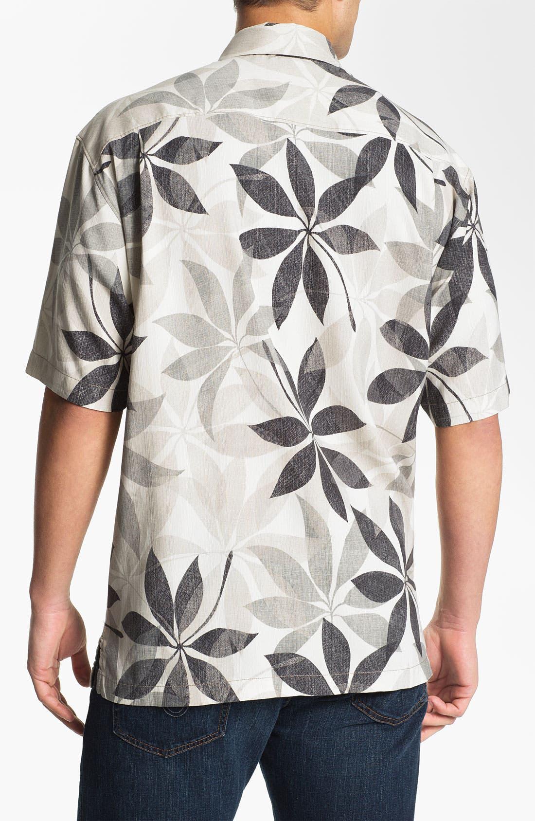 Alternate Image 3  - Tommy Bahama 'Petal Paradise' Silk Campshirt