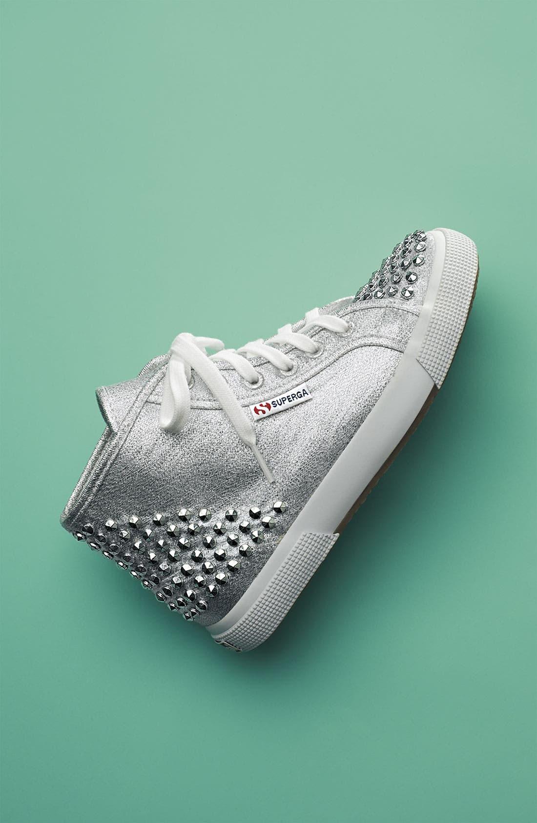Alternate Image 5  - Superga 'Lamé Studs' Sneaker (Women)