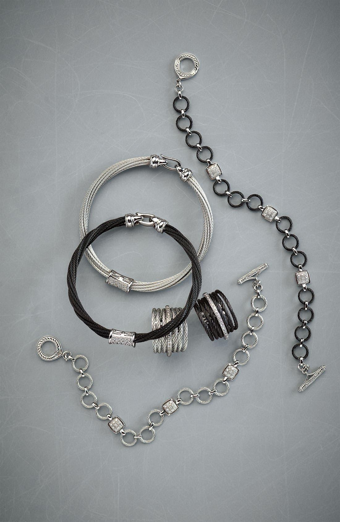 Alternate Image 2  - ALOR® 7-Row Cable & Diamond Ring