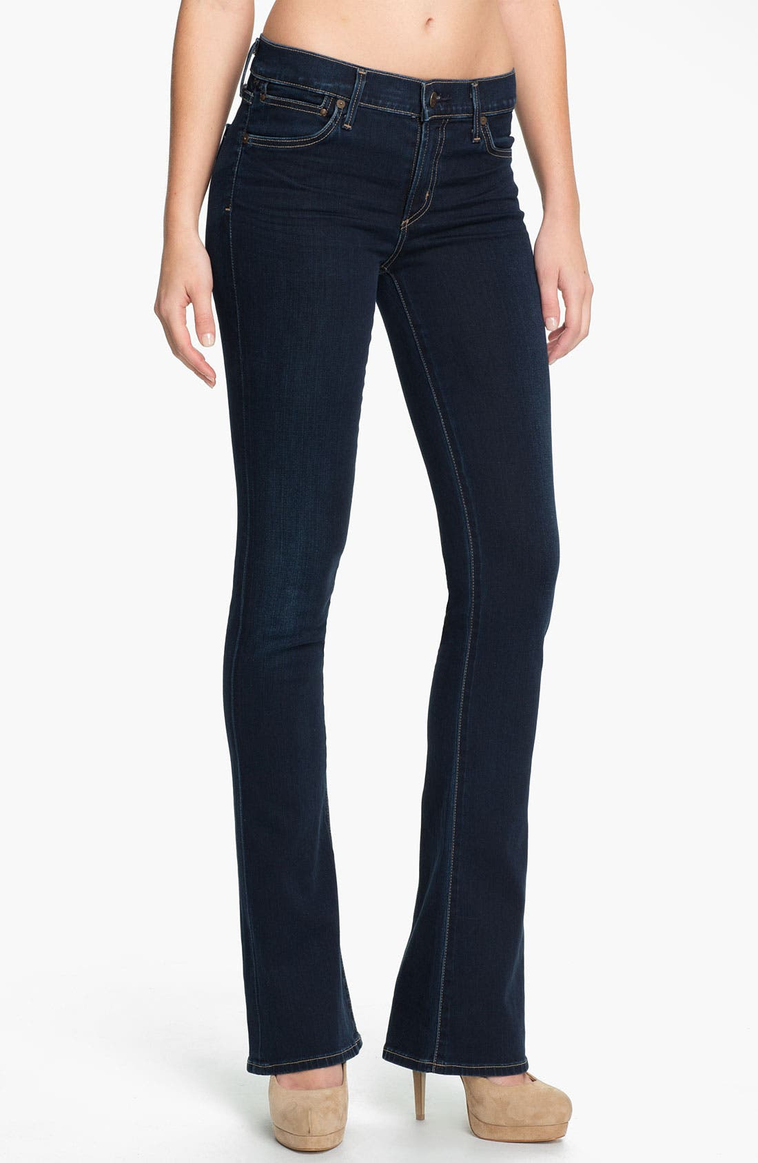 Alternate Image 1 Selected - Citizens of Humanity 'Emmanuelle' Slim Bootcut Jeans (Starry)