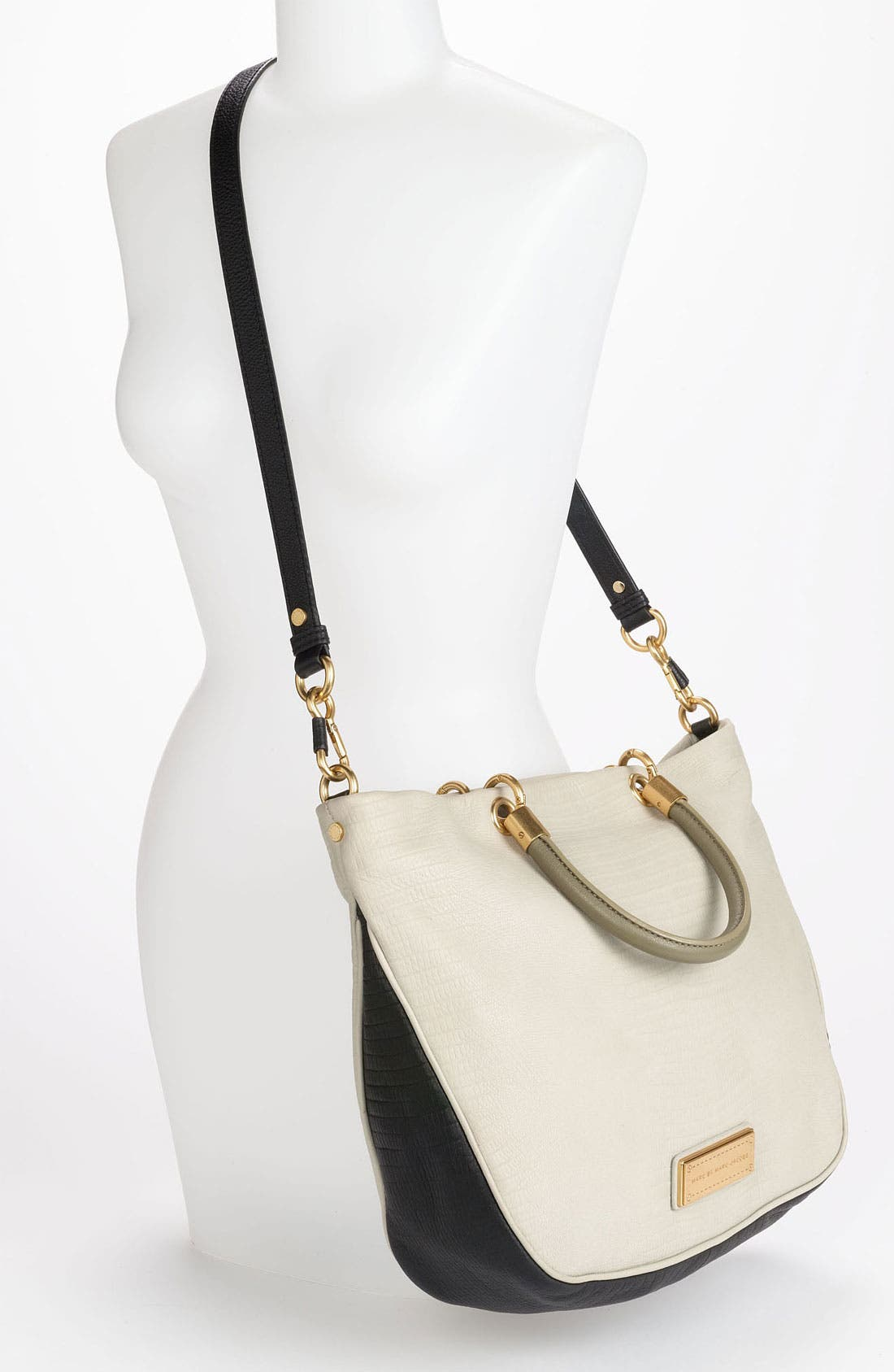 Alternate Image 2  - MARC BY MARC JACOBS 'Too Hot to Handle - Mini' Embossed Colorblock Shopper