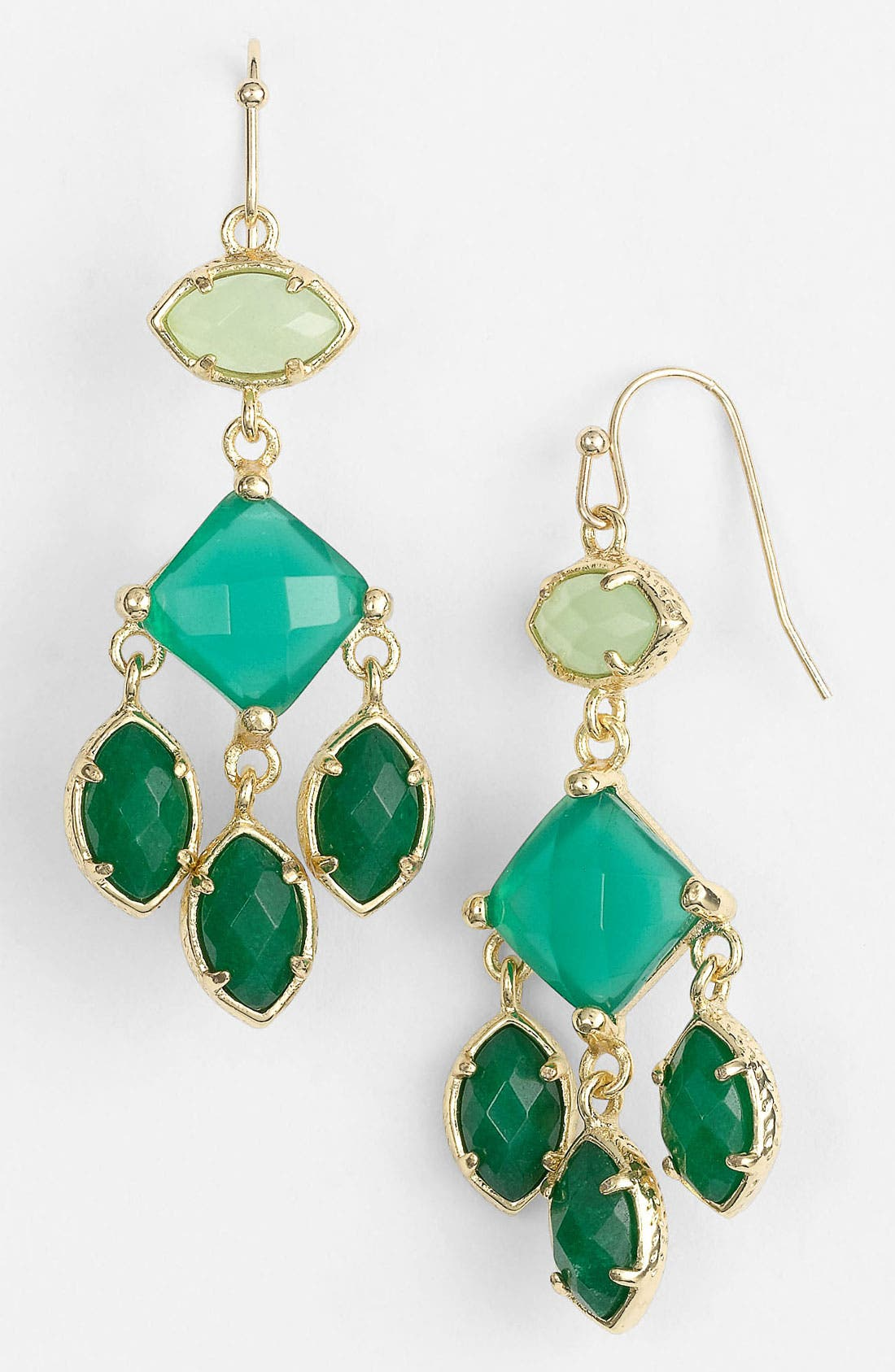 Main Image - Kendra Scott 'Evelyn' Chandelier Earrings