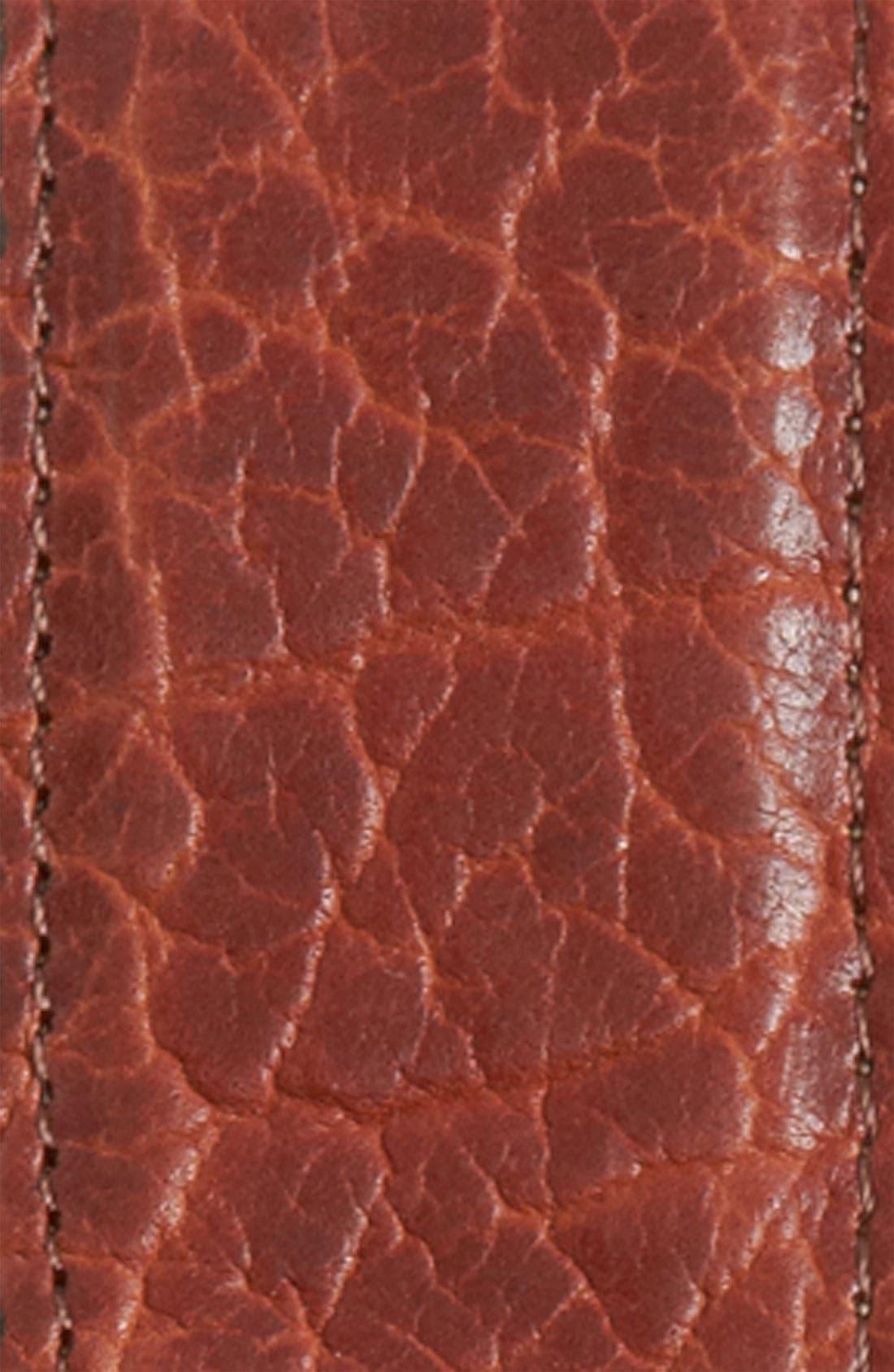 Alternate Image 2  - Trafalgar 'Walsh' Bison Leather Belt