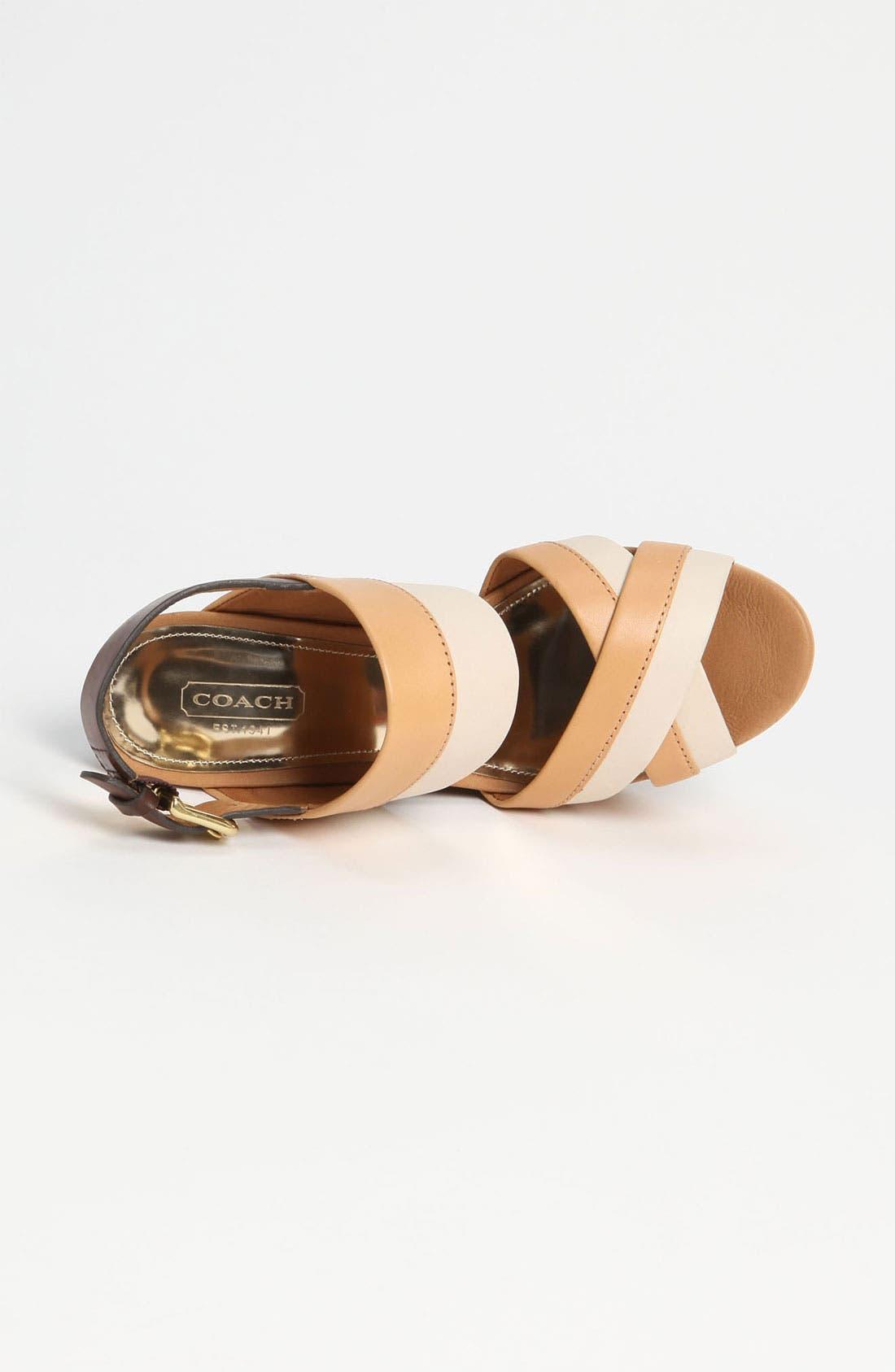 Alternate Image 3  - COACH 'Gaile' Wedge Sandal