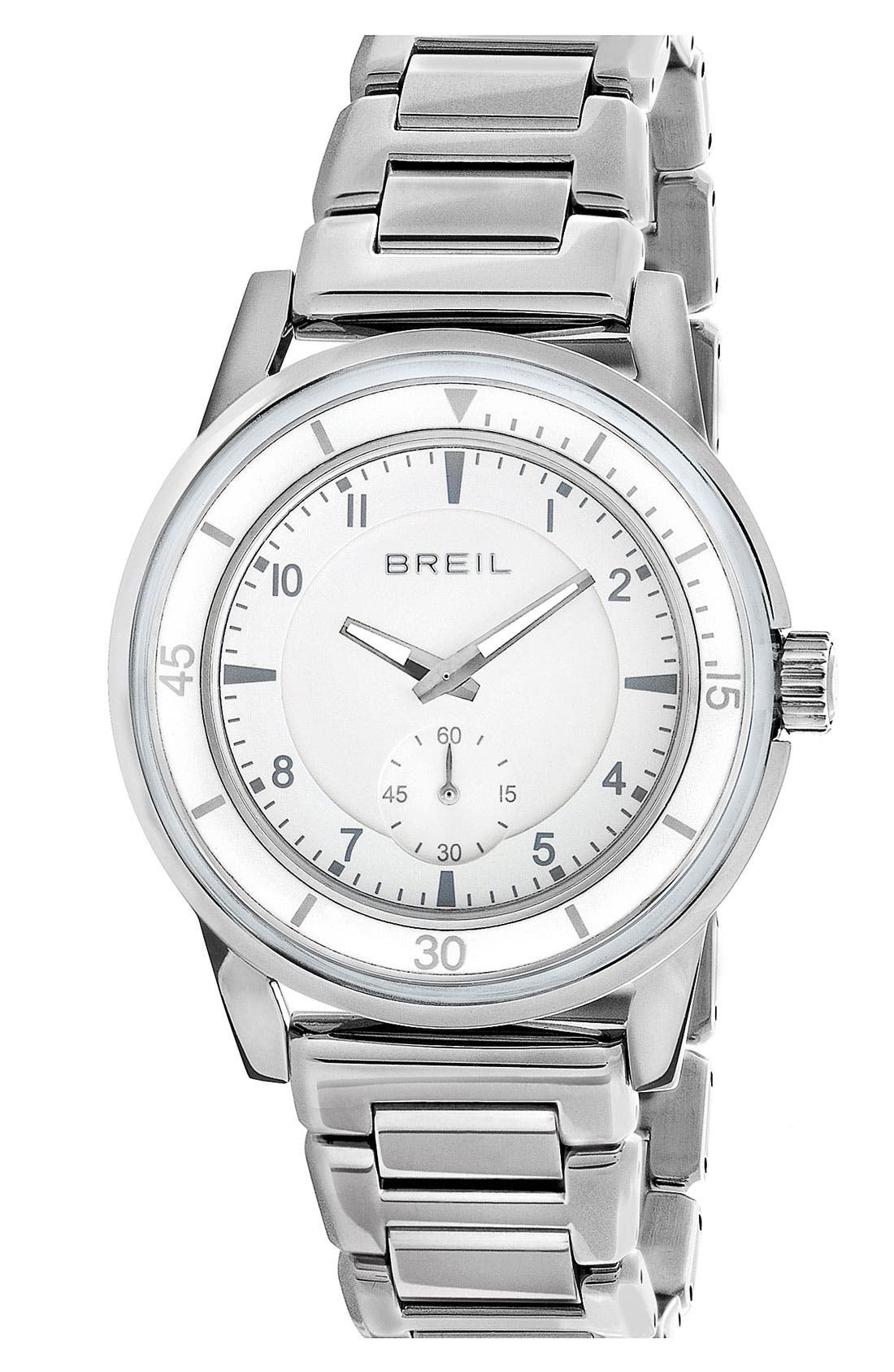 Alternate Image 1 Selected - Breil 'Orchestra' Round Bracelet Watch