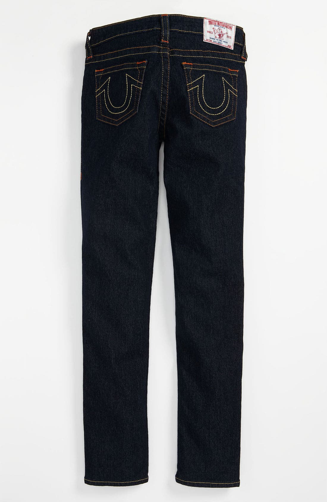 Alternate Image 1 Selected - True Religion Brand Jeans 'Casey' Denim Leggings (Big Girls)