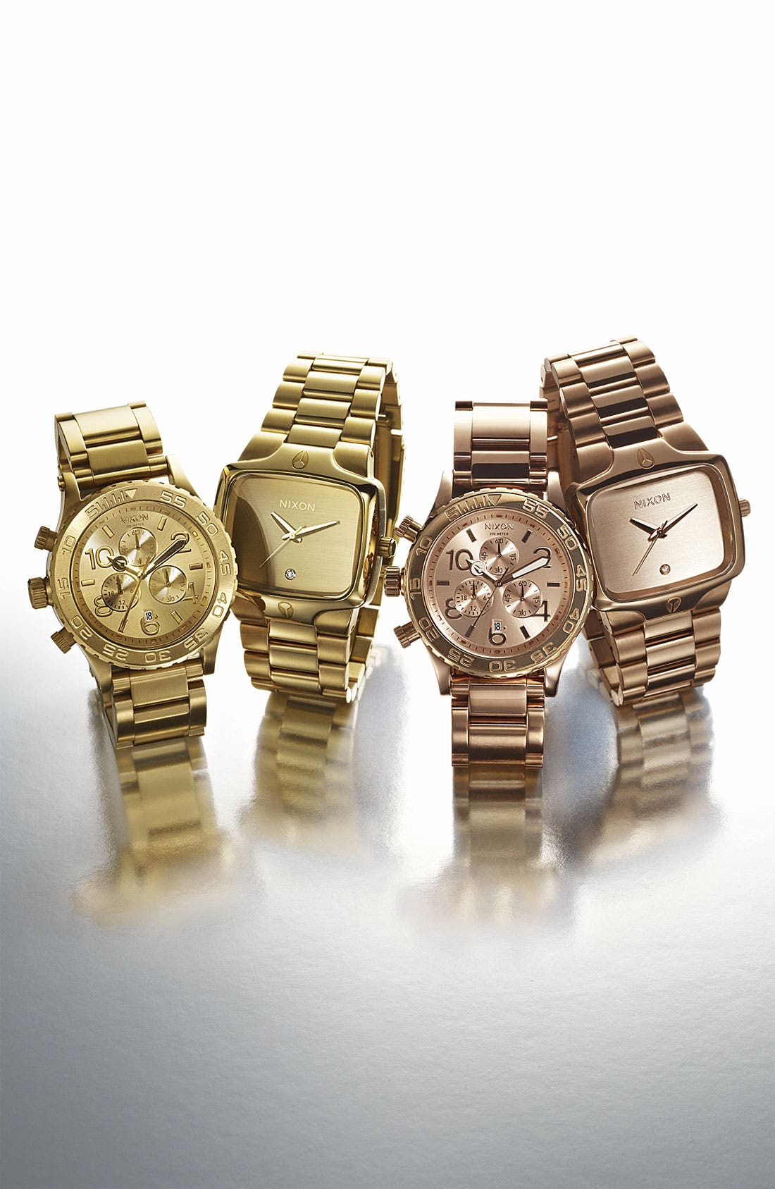Alternate Image 2  - Nixon 'The 42-20 Chrono' Watch, 42mm
